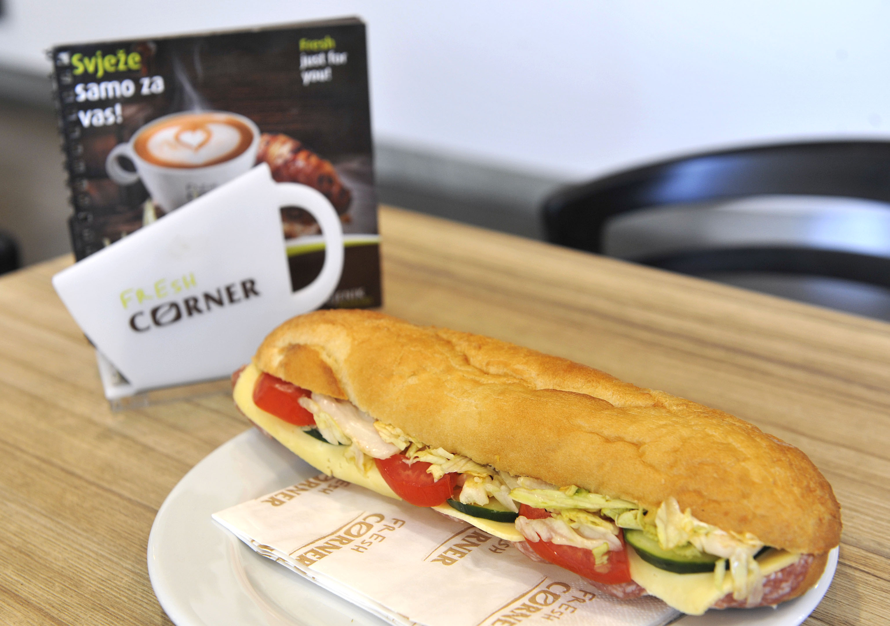 Zdravi sendvič uvijek dobro dođe
