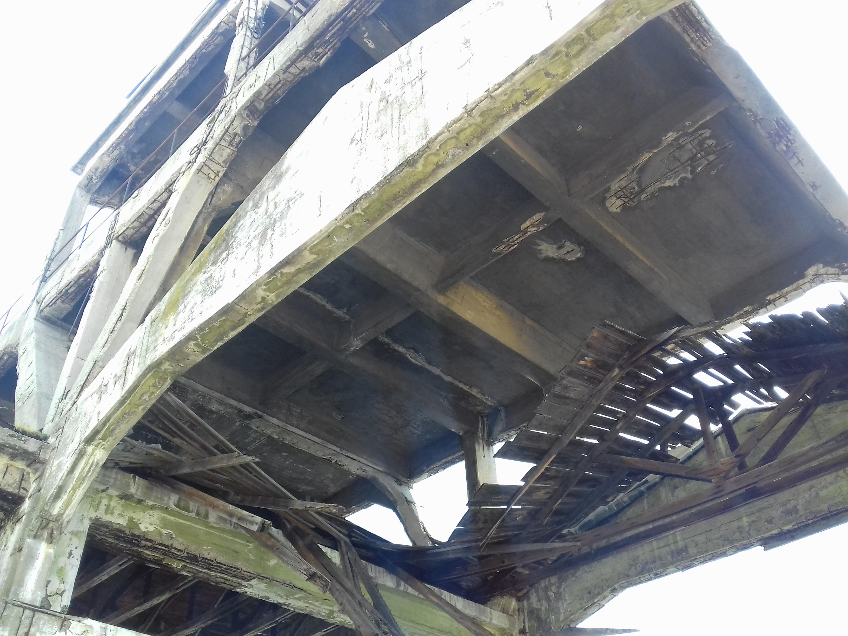 Urušio se krov lansirne rampe za torpeda na Mlaki / Snimio Marko GRACIN