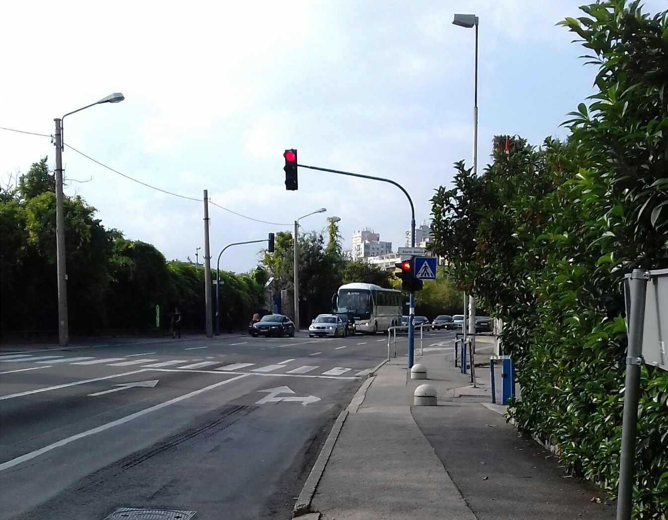 Prometna nesreća, Audi i Volkswagen, Zvonimirova ulica / Foto NL