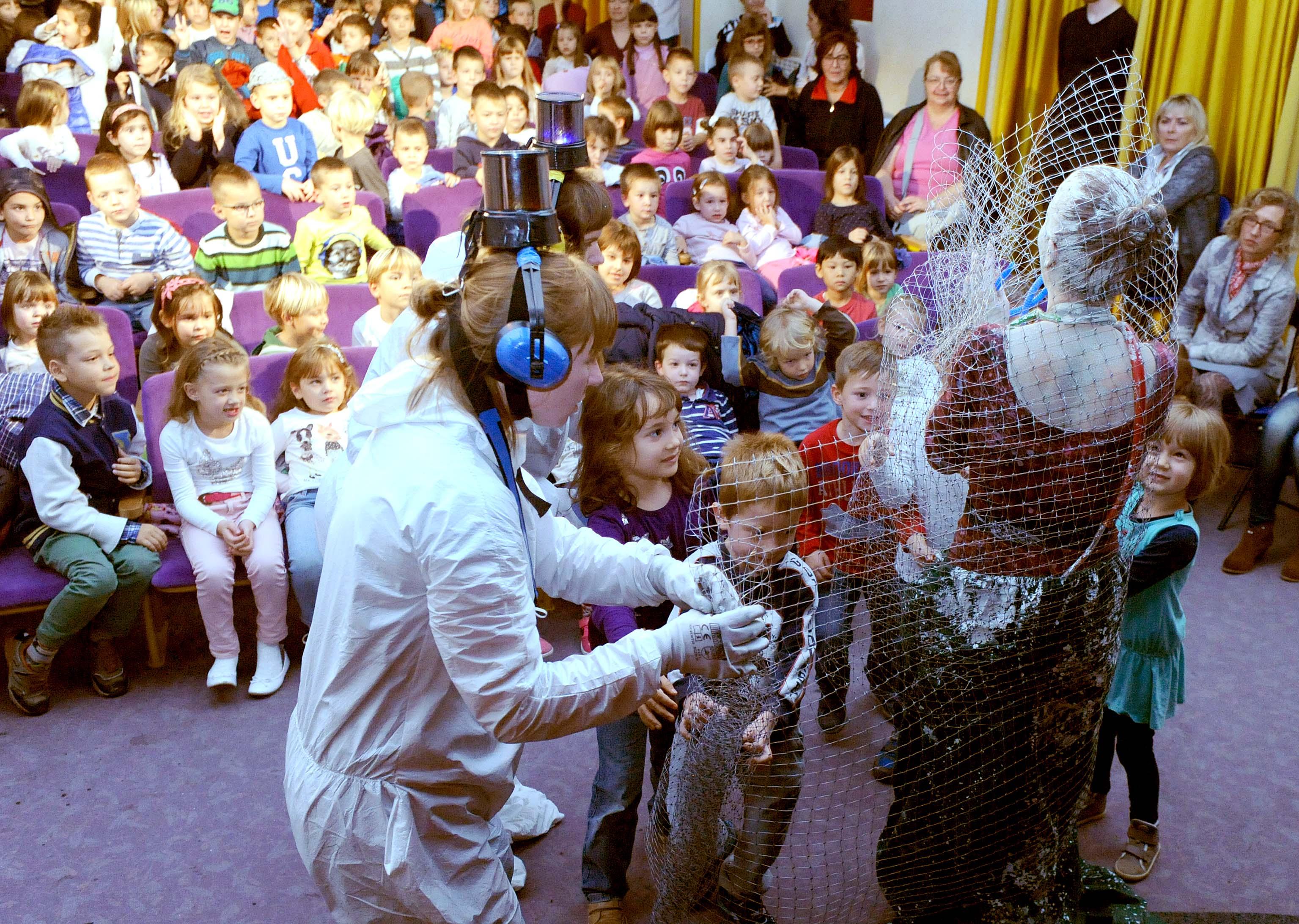 Publika se odgaja od malih nogu u Gradskom kazalištu lutaka / Foto Marko GRACIN