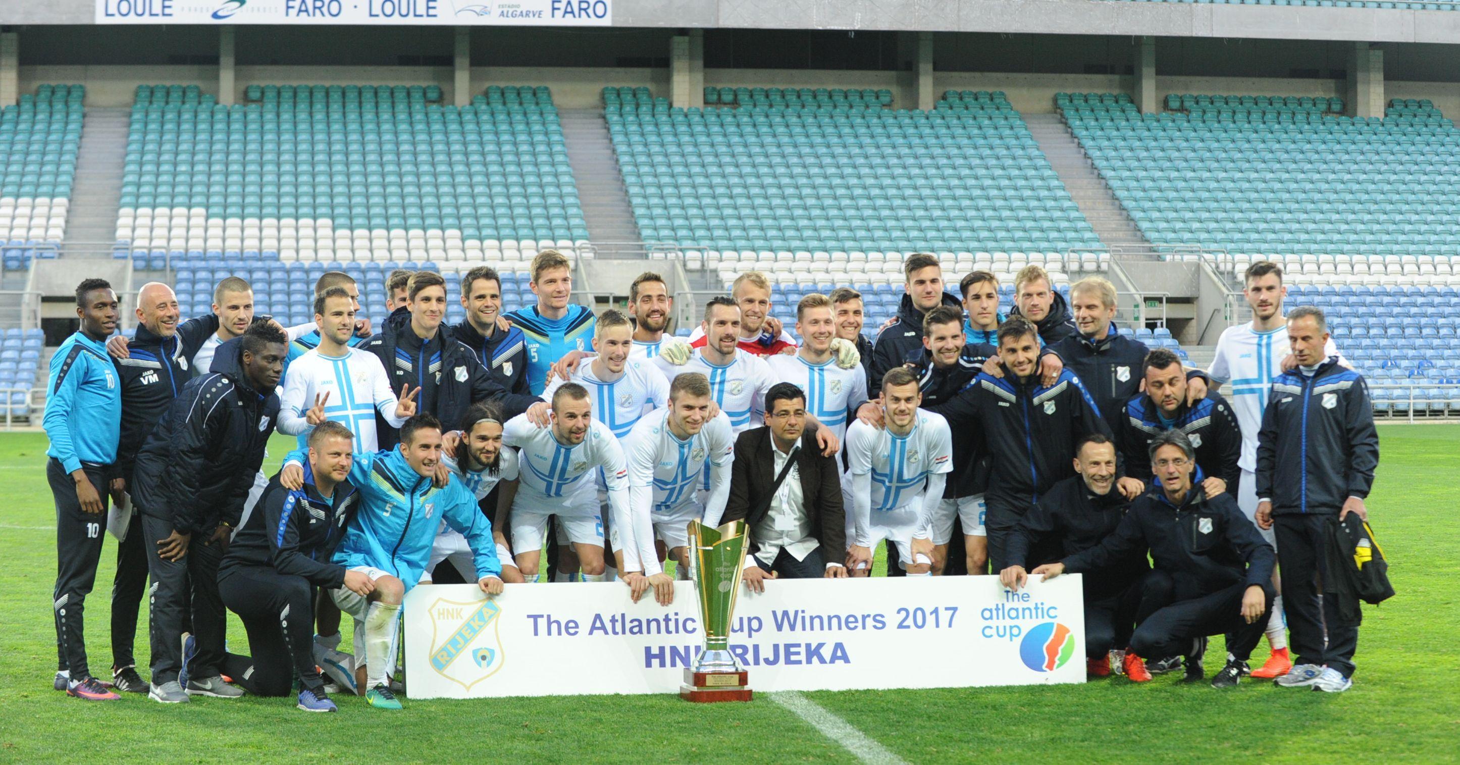 PUN POGODAK - Riječani su u zimskoj stanci 2017. osvojili Atlantic Cup u Portugalu i najavili pohod na duplu krunu