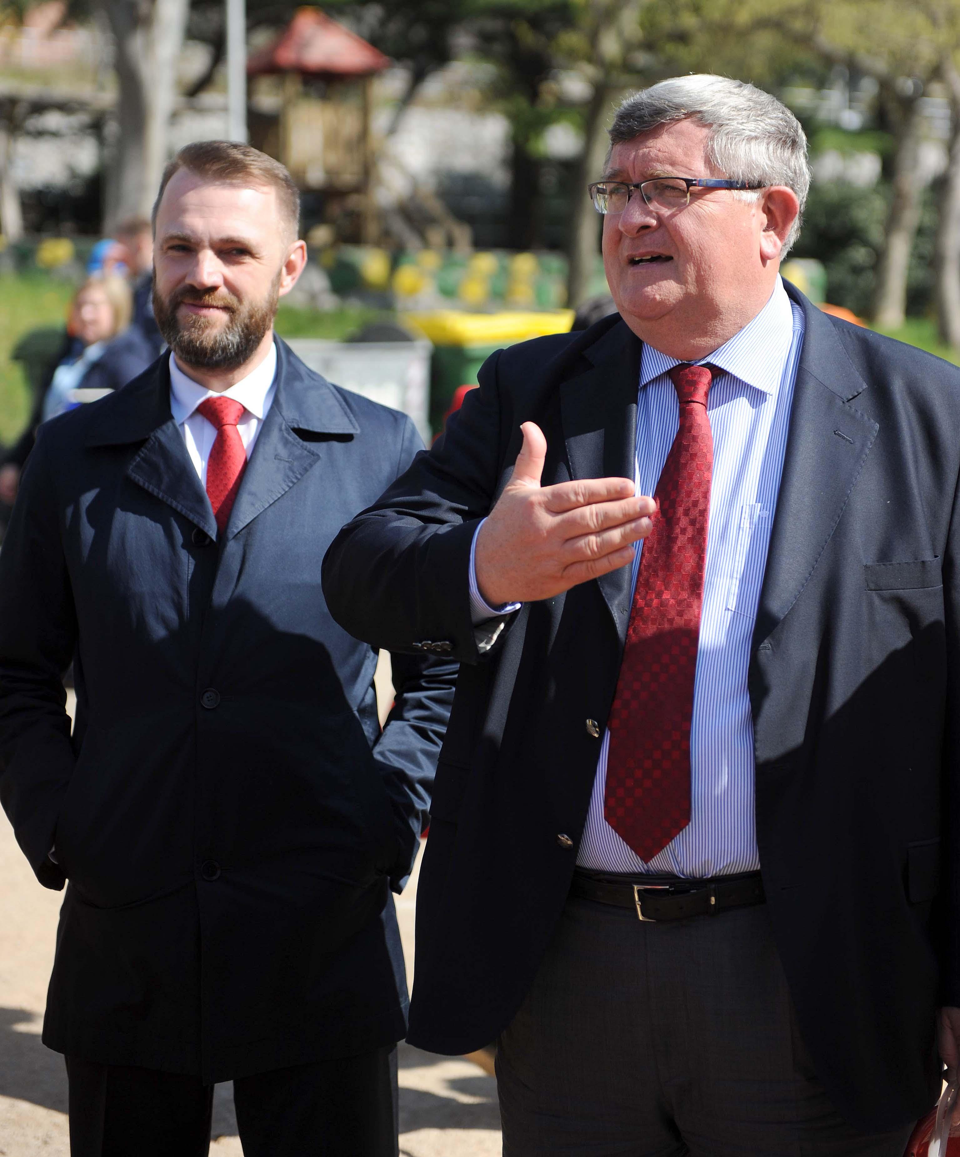 Vladimir Benac i Vojko Obersnel