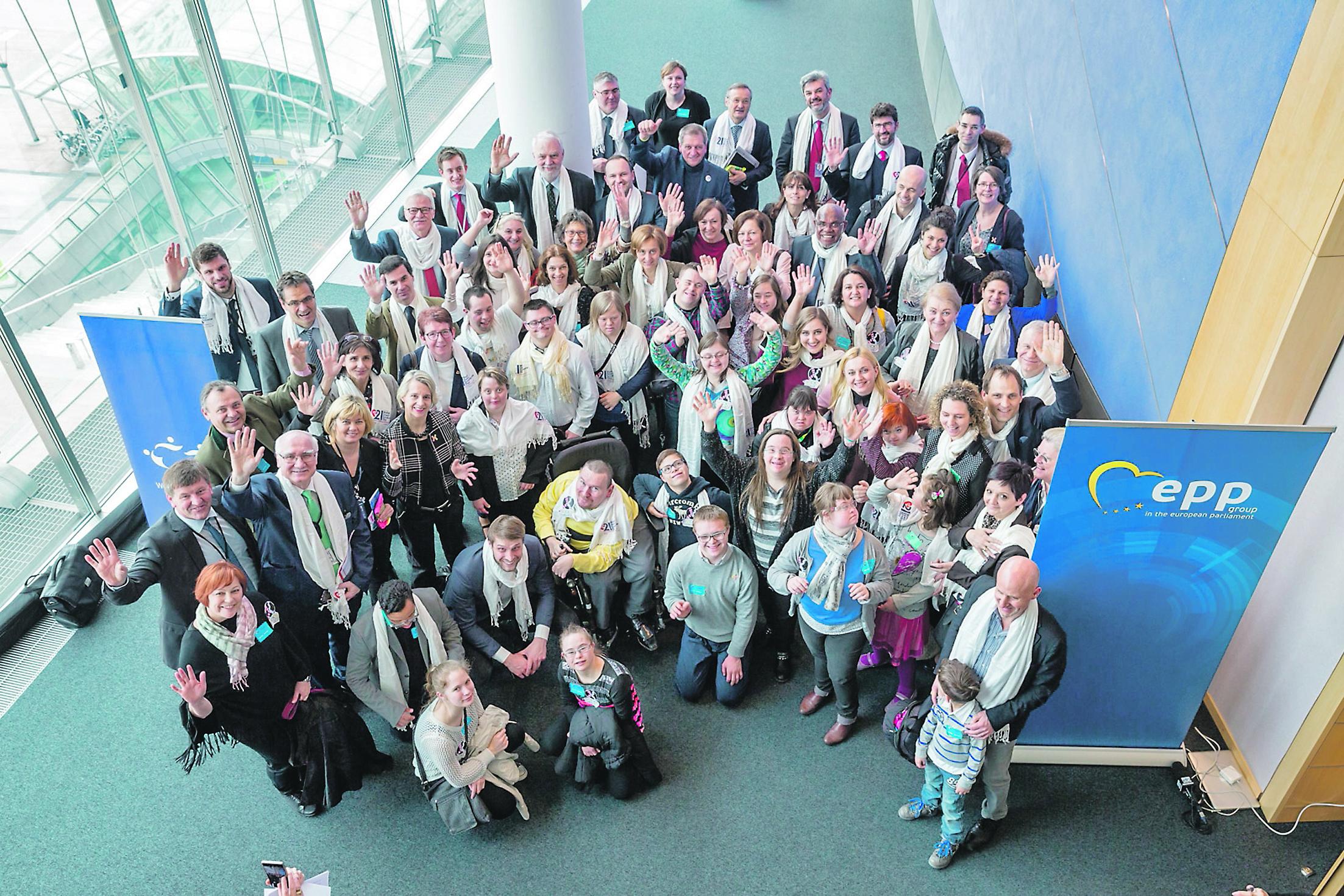 Riječanka s Down sindromom predstavljala je Hrvatsku na susretu u Europarlamentu