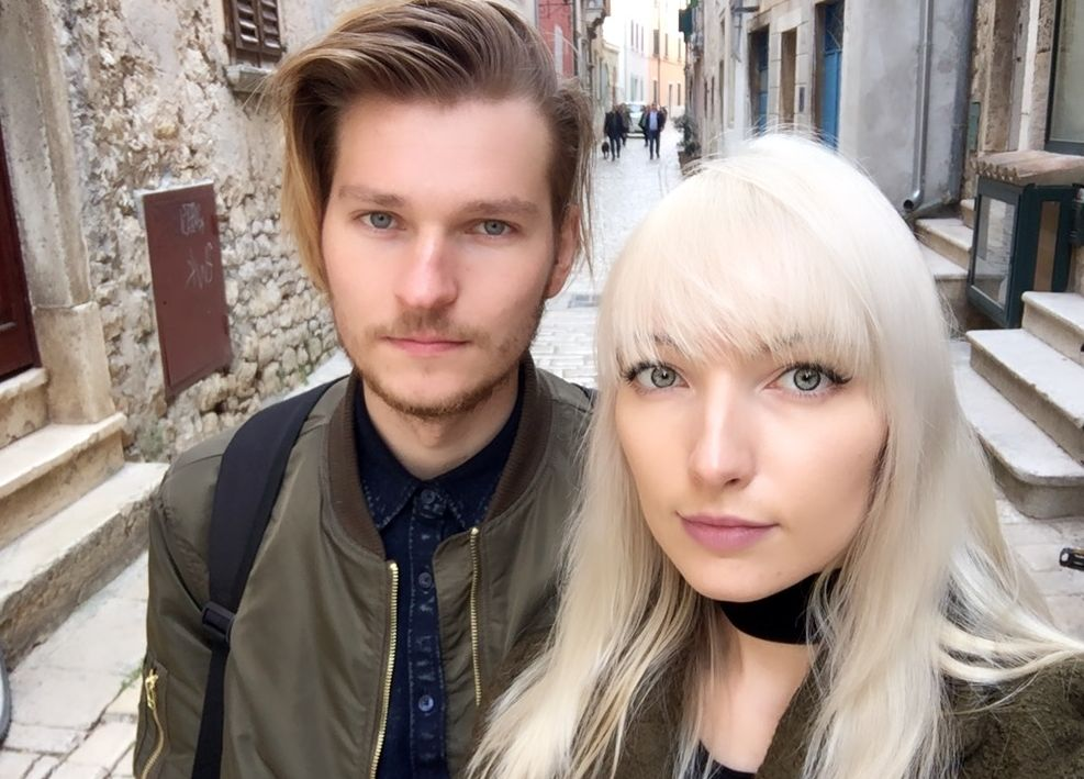 Kasparas Guobys i Ingrid Sinkeviciute