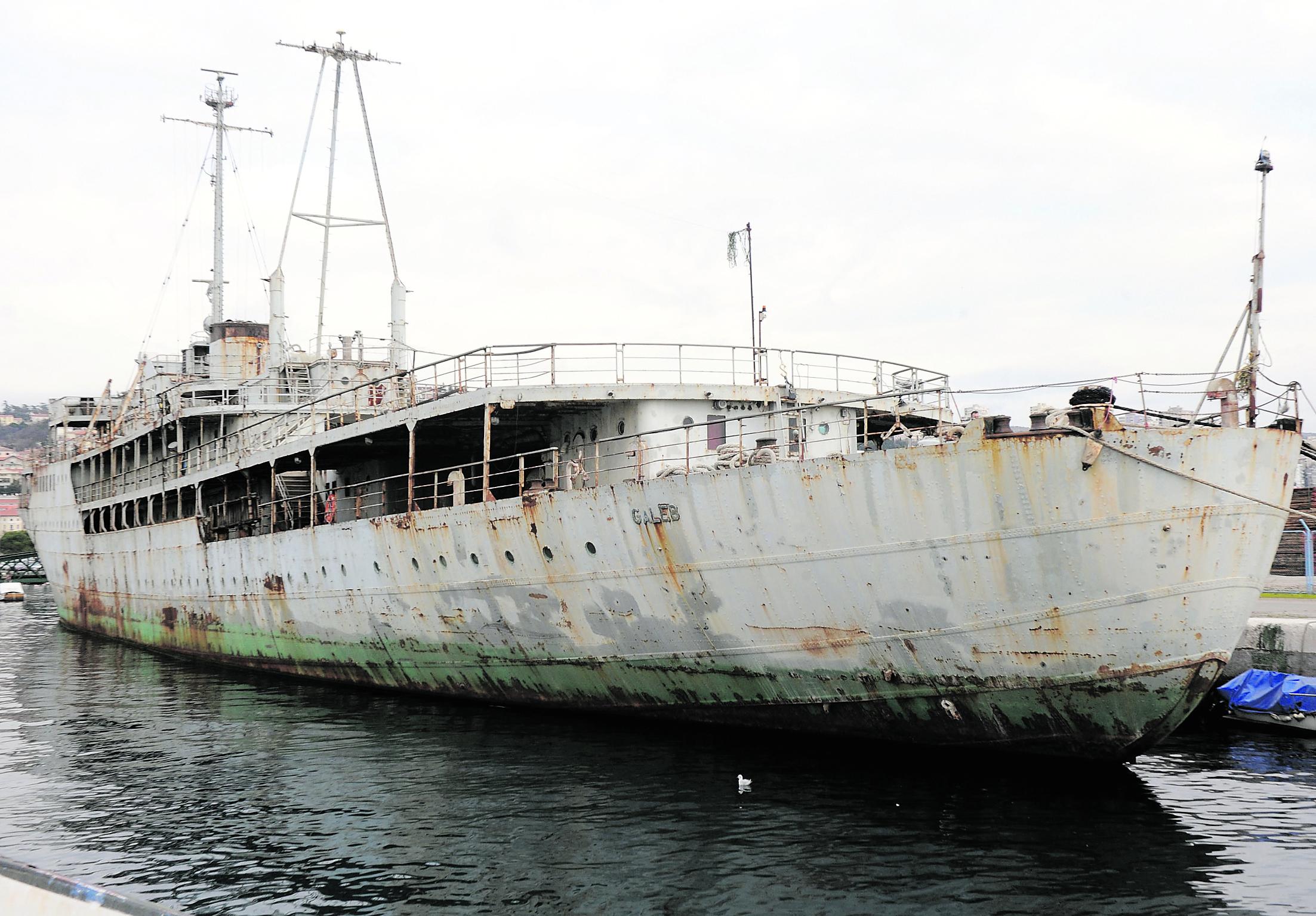 Brod Galeb, NL arhiva