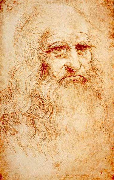 Autoportret Leonarda da Vincija, Leonardo da Vinci,