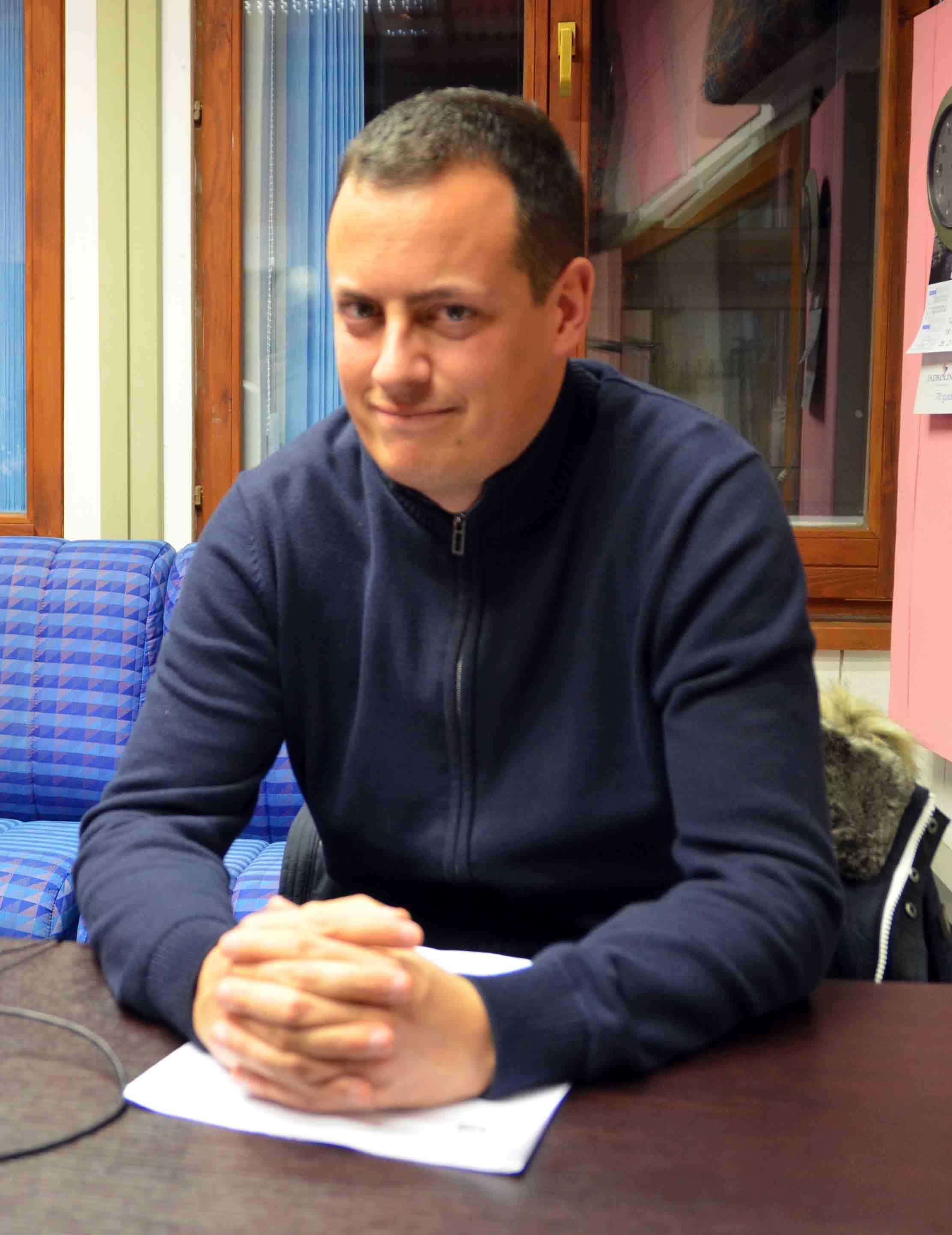 Igor Pleše, predsjednik SDP-a Delnice / Snimio Marinko KRMPOTIĆ