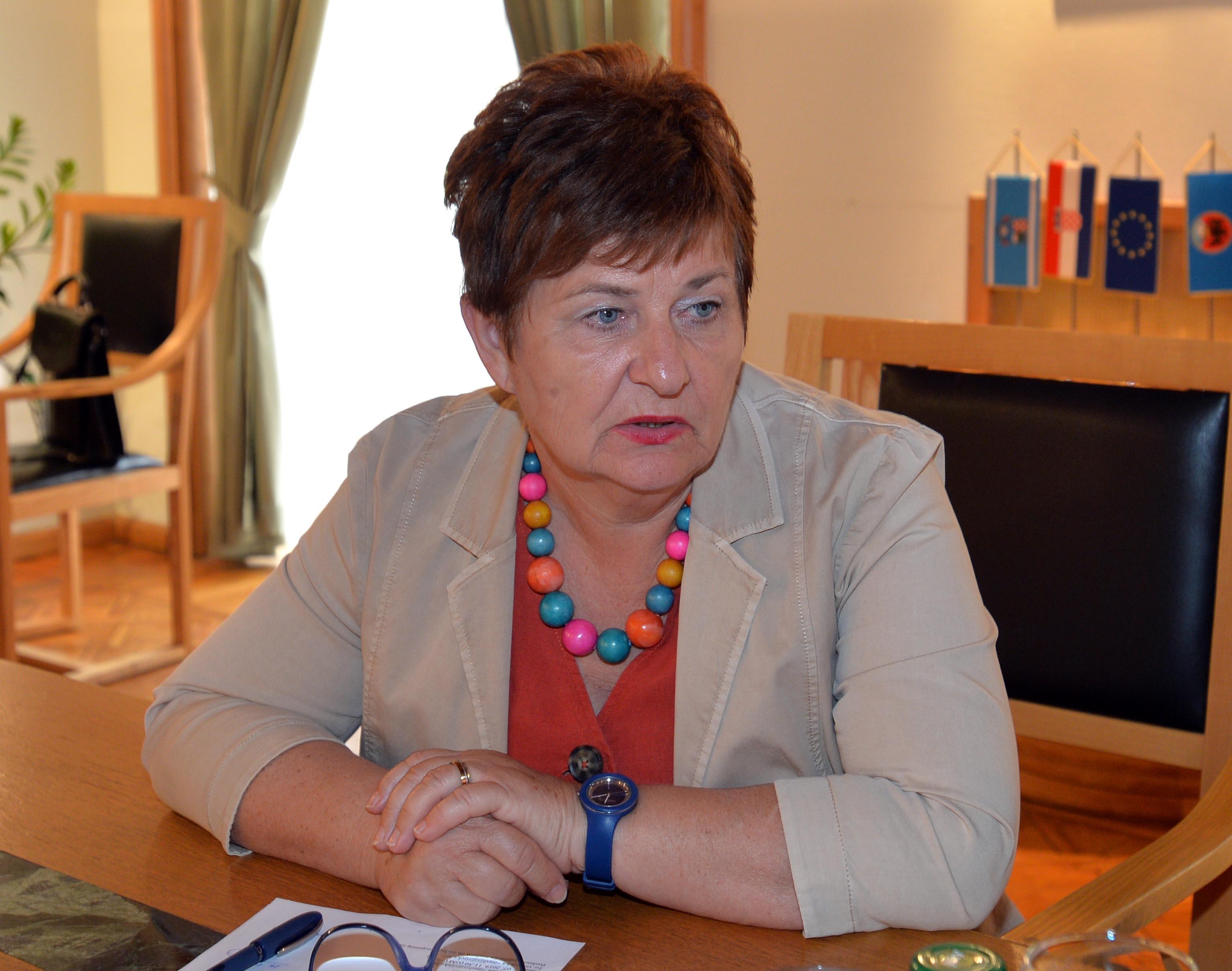 Pročelnica Odjela za komunalni sustav Grada Rijeke Irena Miličević / Foto D. ŠKOMRLJ