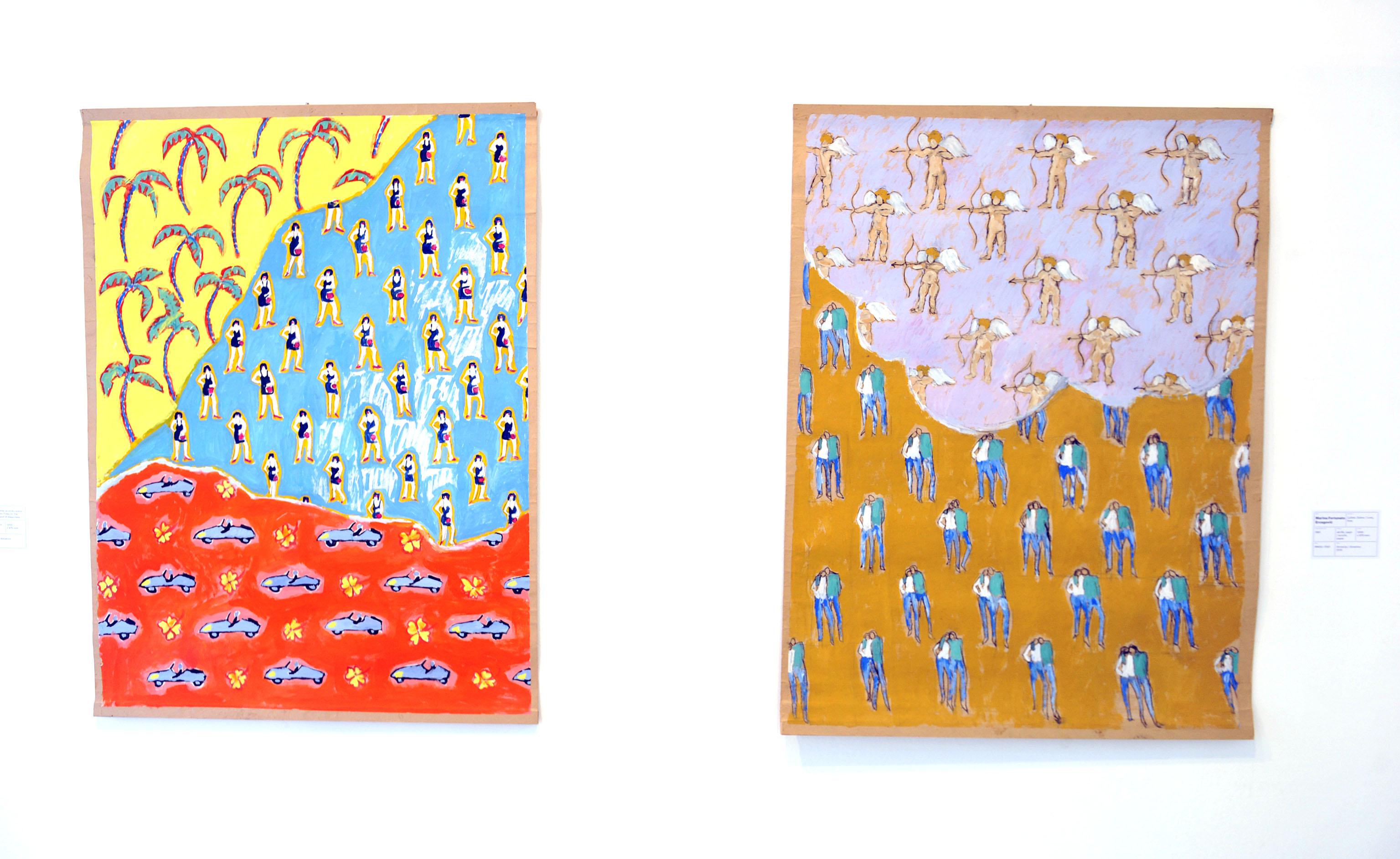 Marina Ercegović Fortunato, »Palme na otoku sreće«, 1981.; Marina Fortunato Ercegović, »Ljubav, ljubav«, 1981.