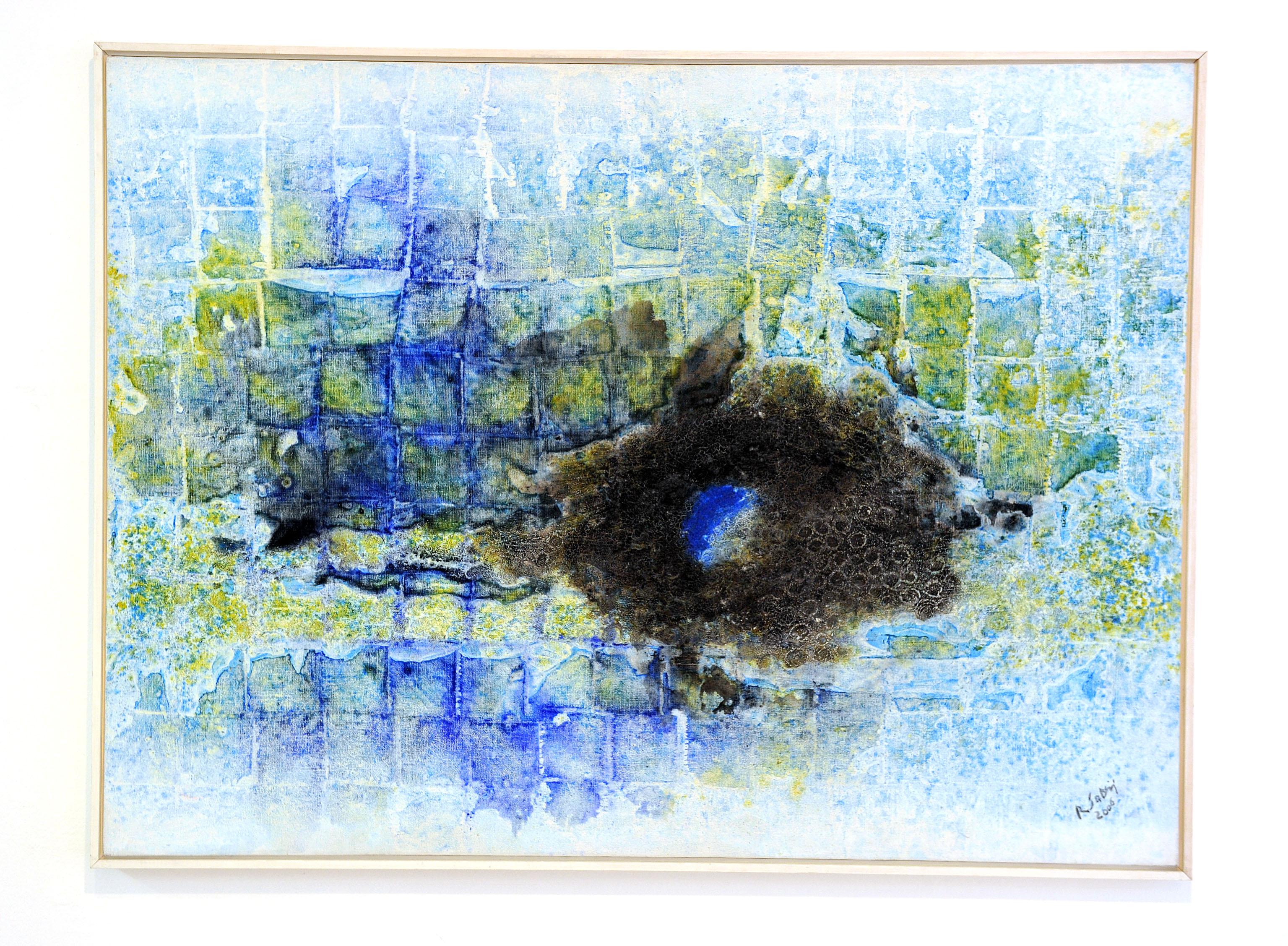 Rudolf Sablić, »Zaustavljena modrina«, 2006.
