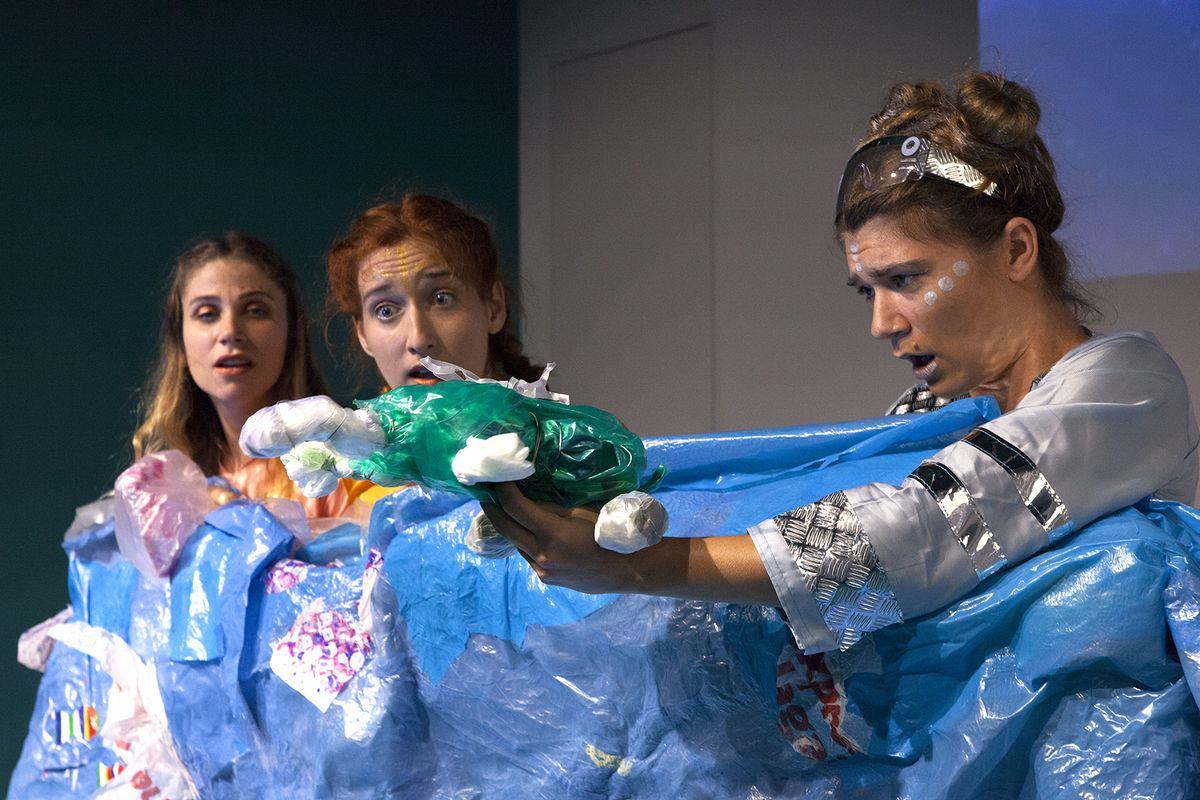 Poziv malim gledateljima za smanjivanje otpada / Foto M. LEGOVIĆ