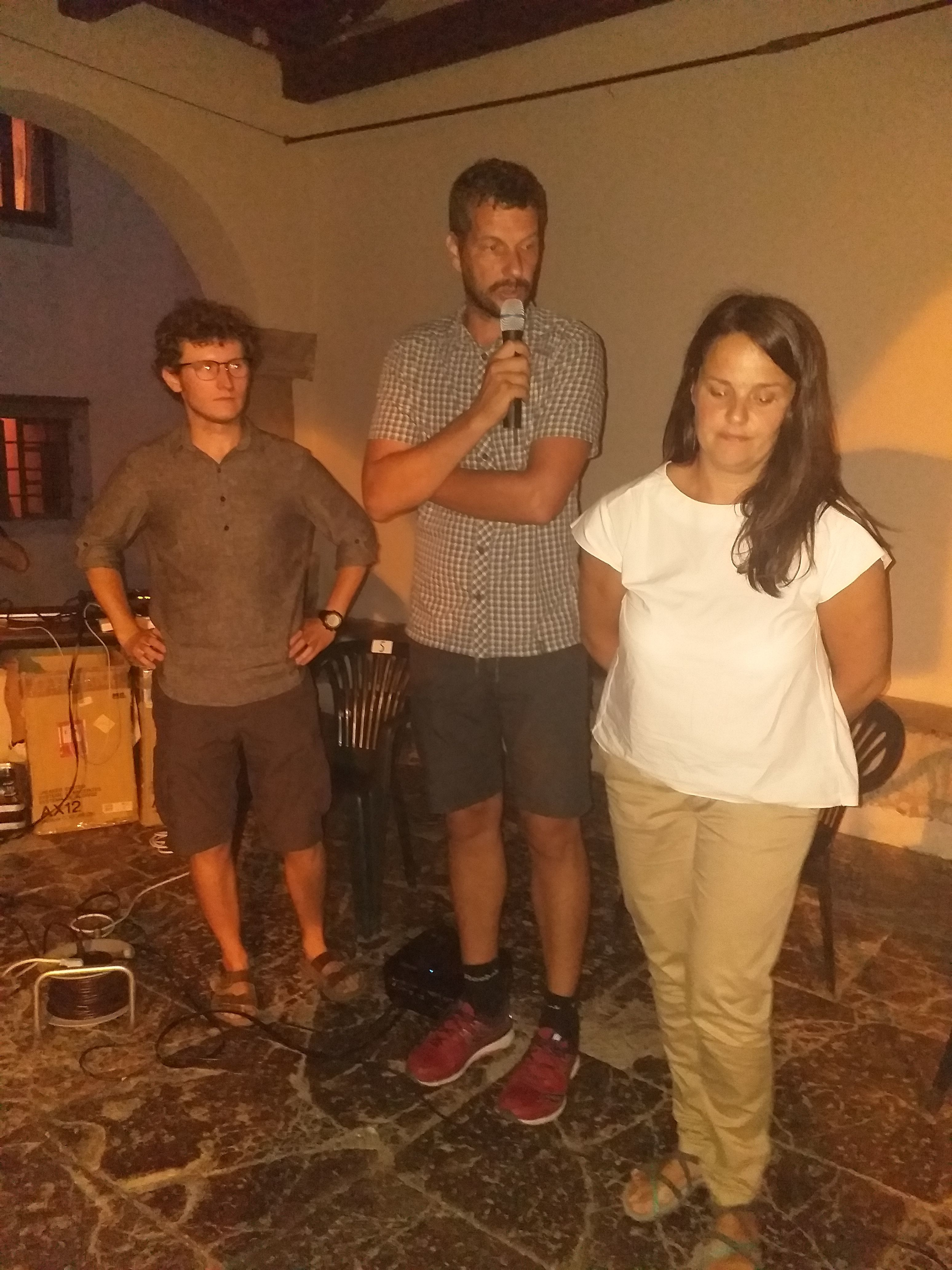 Ivan Vranjić, Alen Grakalić i Anđelina Toto / Foto KRISTIAN SIROTICH