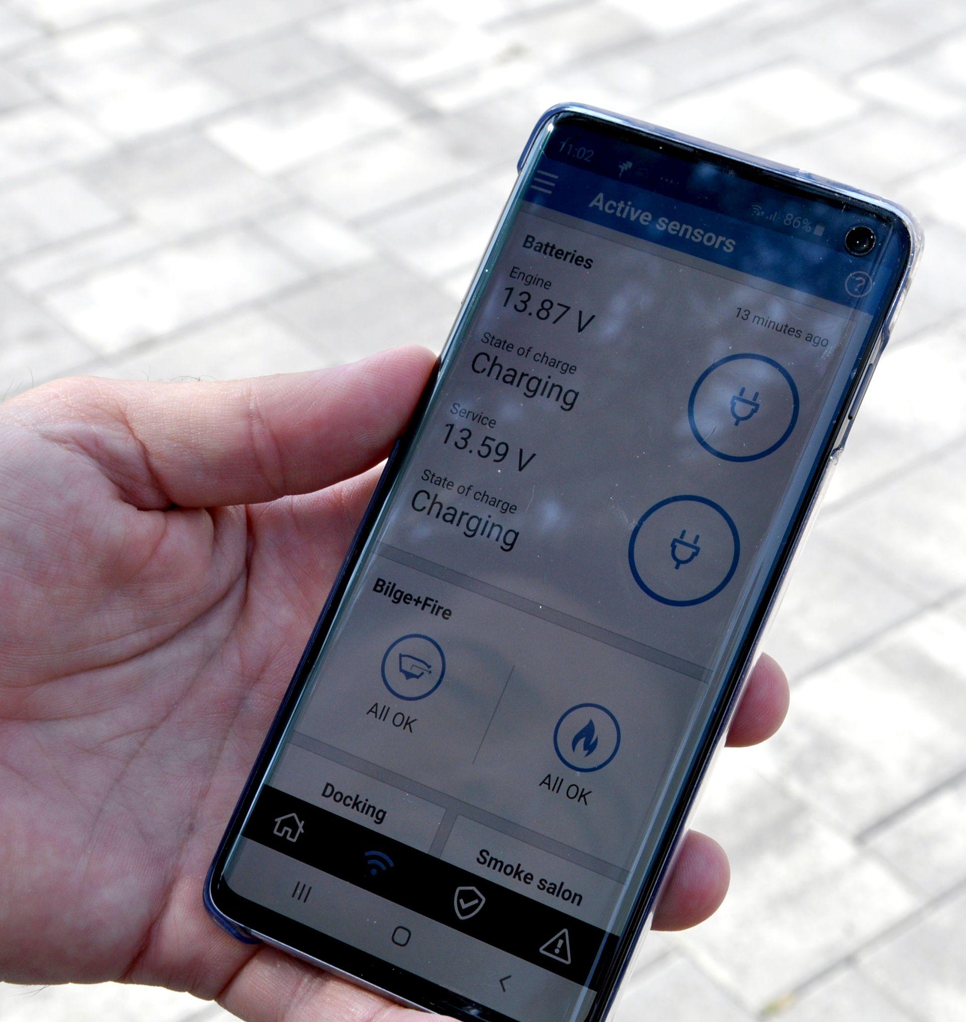 Marina Punat: Sve informacije senzora pokazuju se na mobilnim uređajima / Snimio Mladen TRINAJSTIĆ