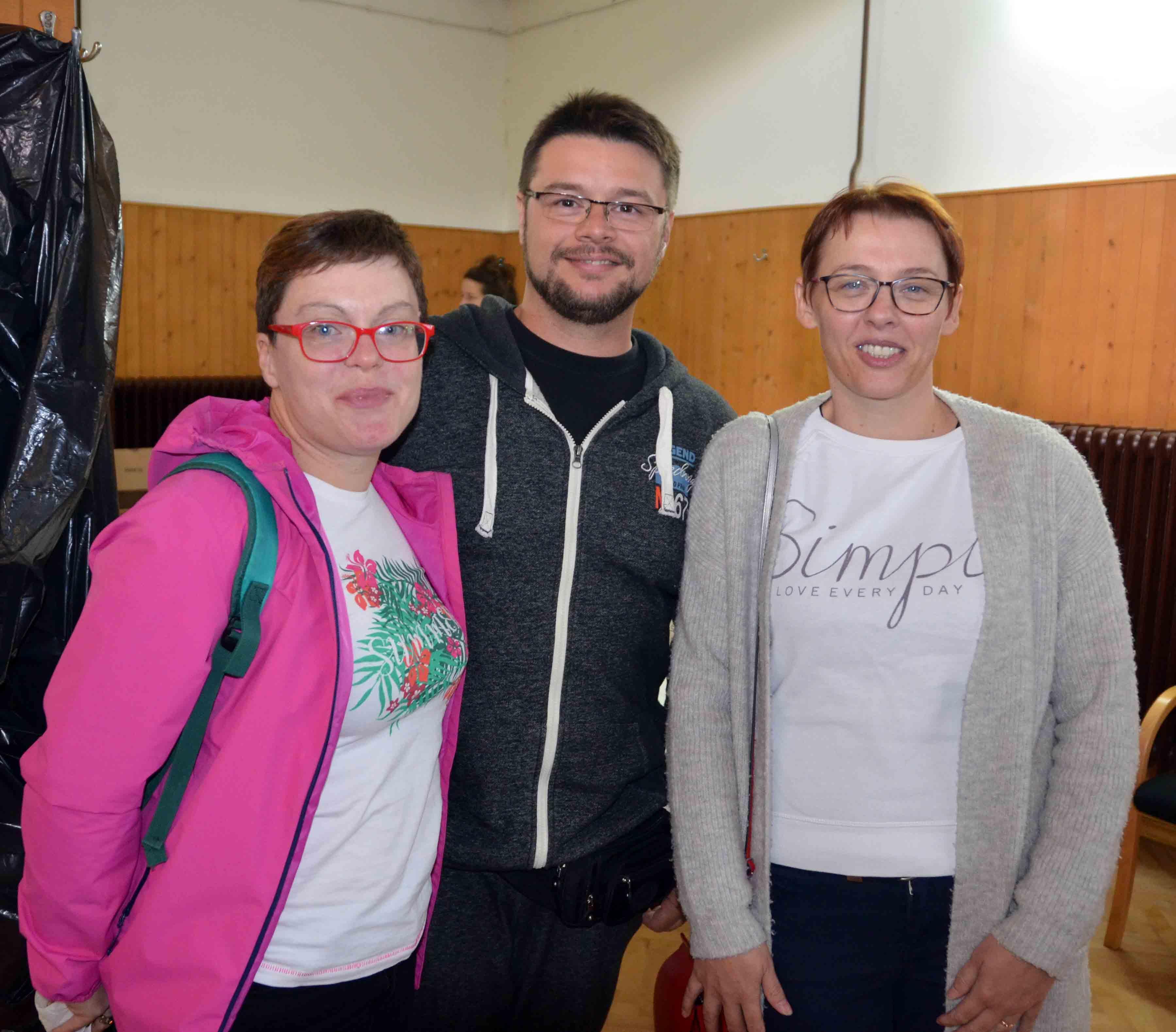 Ekipa s Krka - Iva Dujmović, Krunoslav Čuljak i Sandra Jurković / Snimio Marinko KRMPOTIĆ