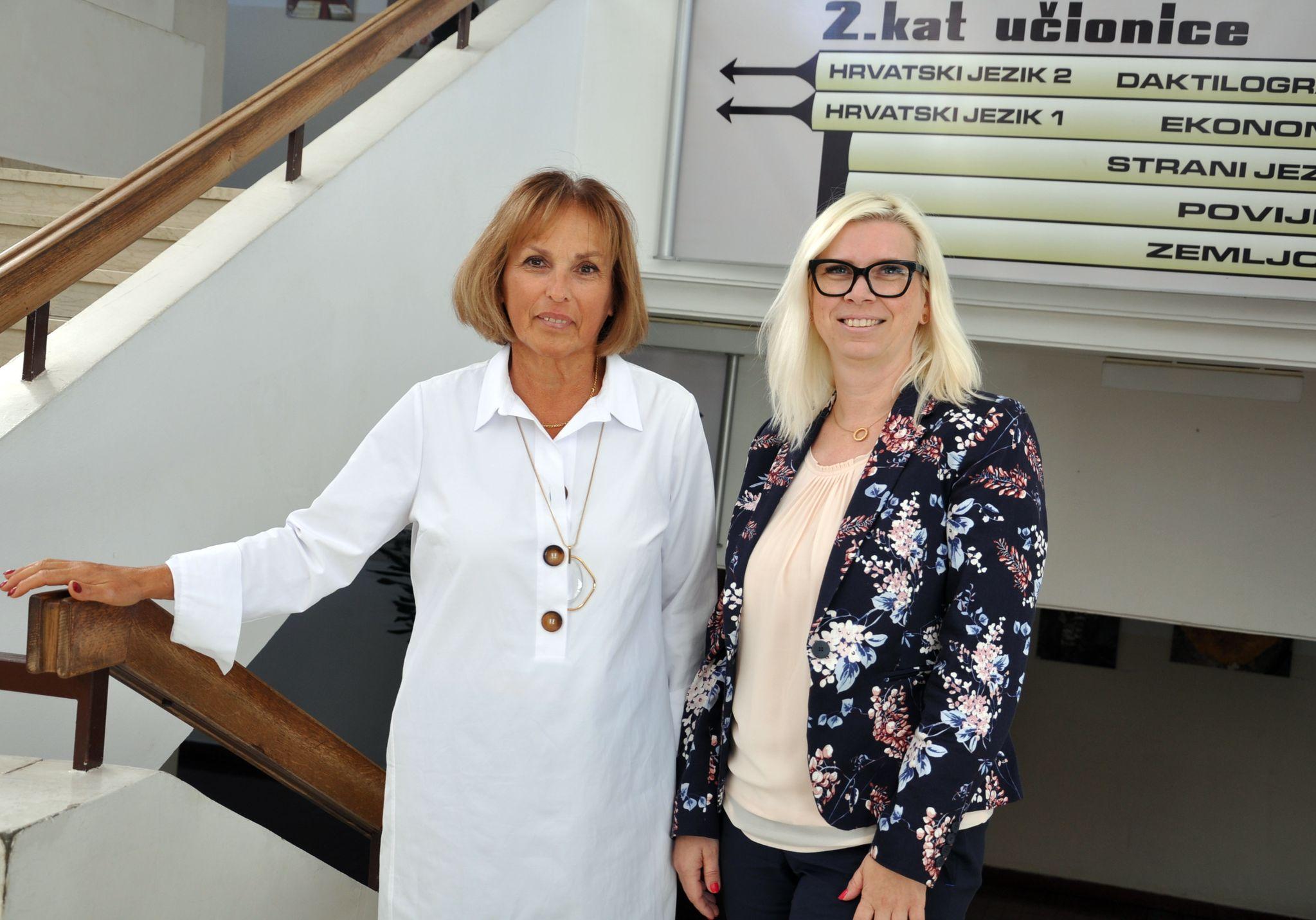 Đurđica Cvitkušić i Ana Pasarić / Snimio Mladen TRINAJSTIĆ