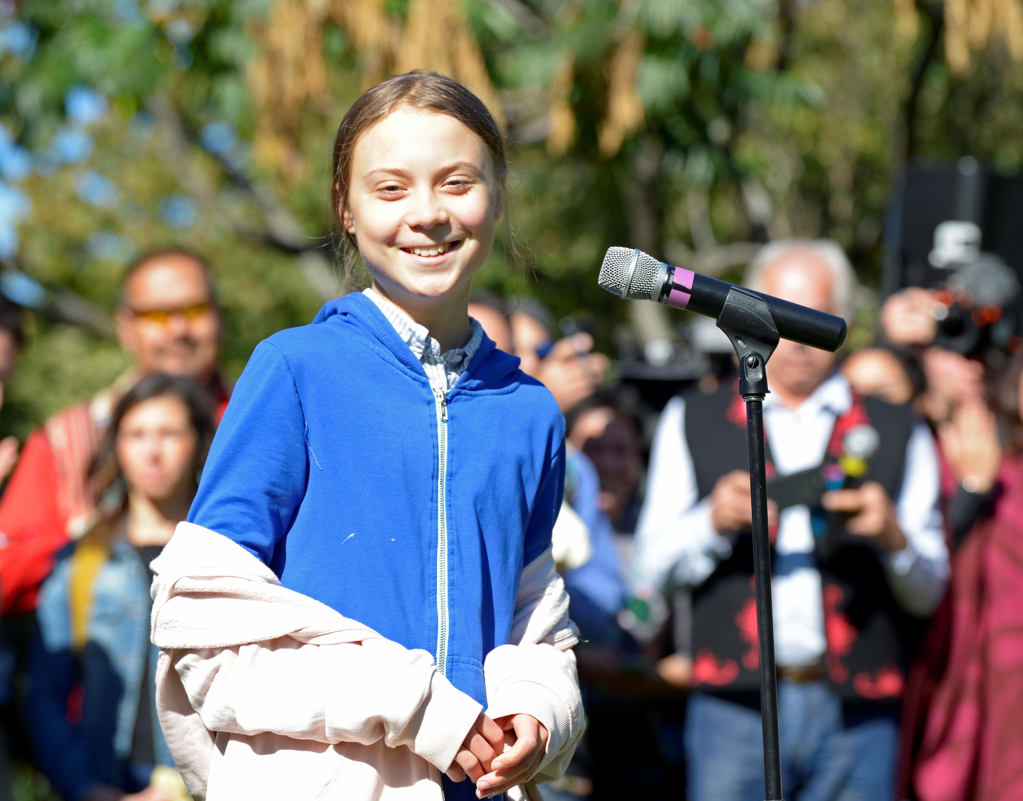 Greta Thunberg u Montrealu / Reuters
