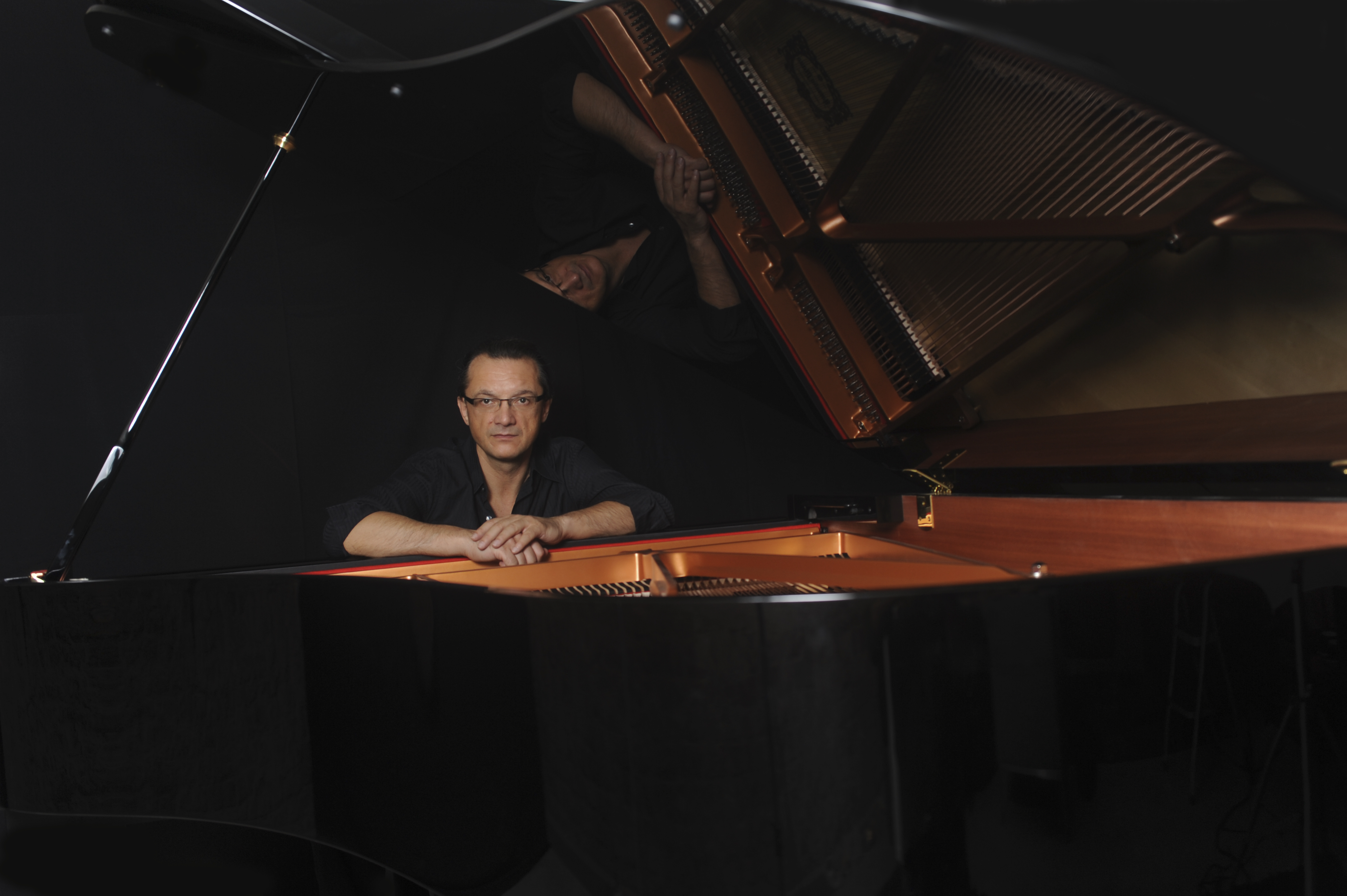 Knjiga »Glazba kao lijek« pijanista Josipa Meixnera bit će predstavljena 23. listopada / Snimio Franjo DERANJA