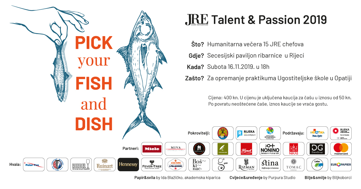 JRE Talent & Passion 2019: »Pick your fish and dish«