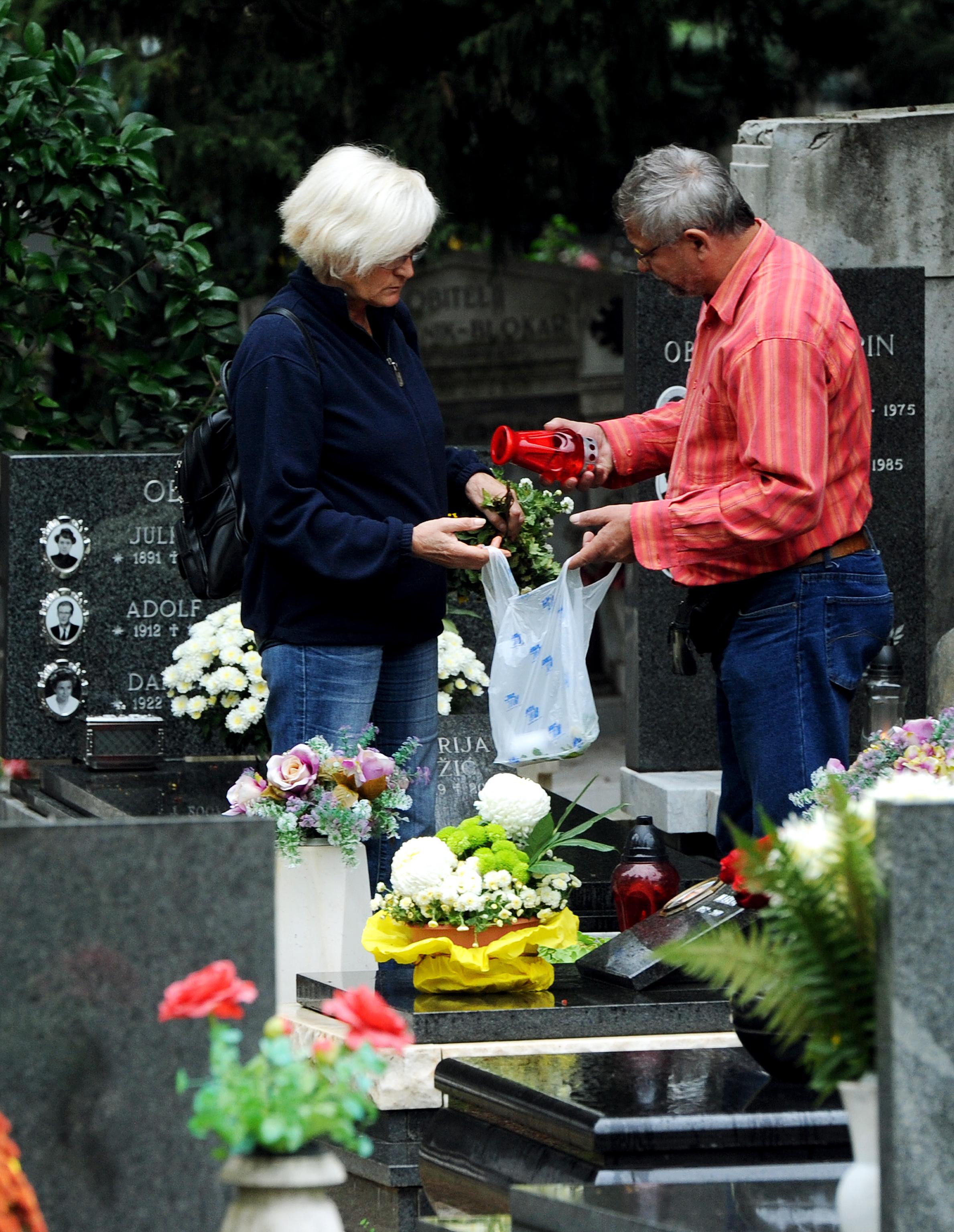 Trsatsko groblje već je spremno za veliki blagdan / Foto M. GRACIN