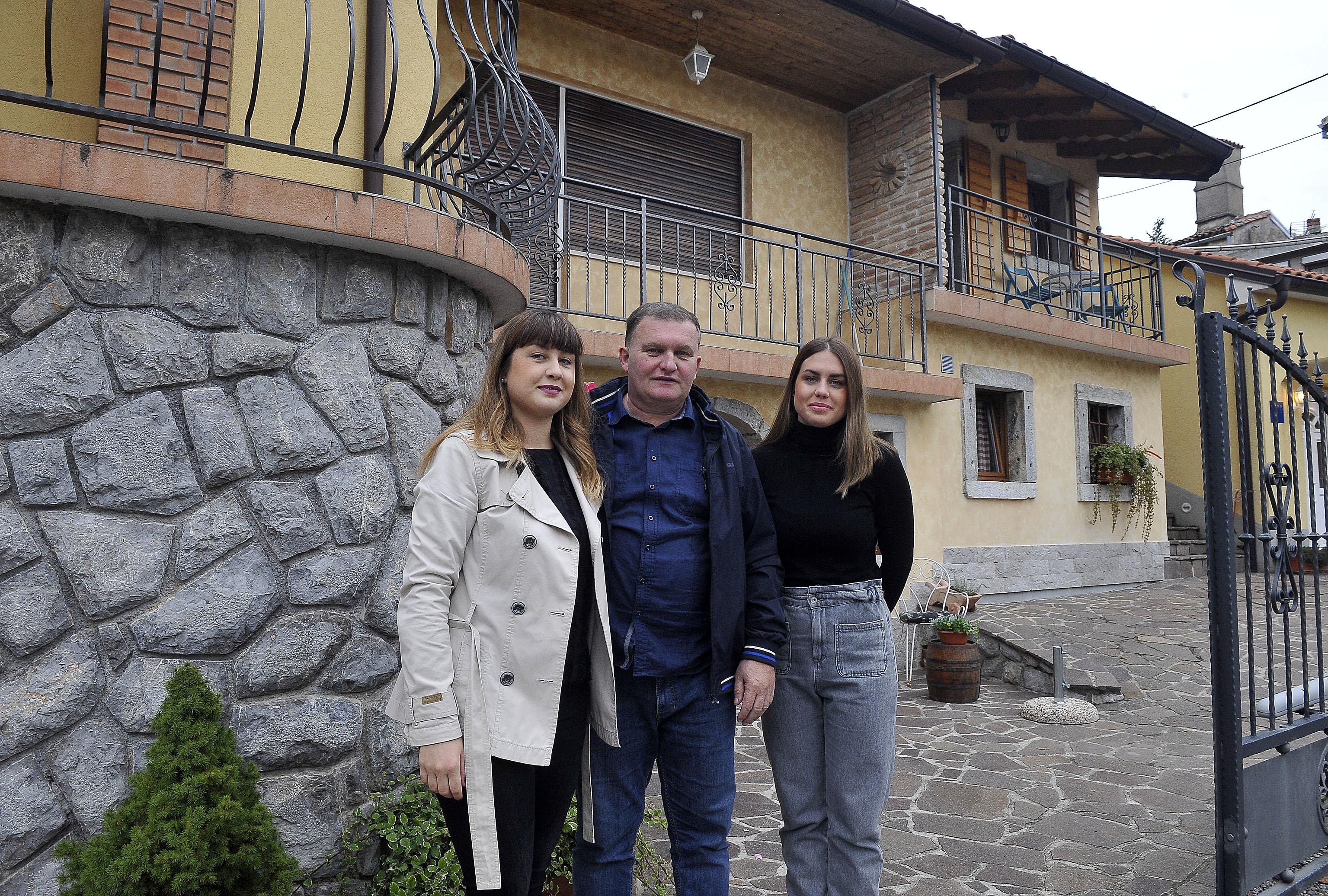 Skladna obitelj razvija turizam u Trtnima / Foto: R. BRMALJ