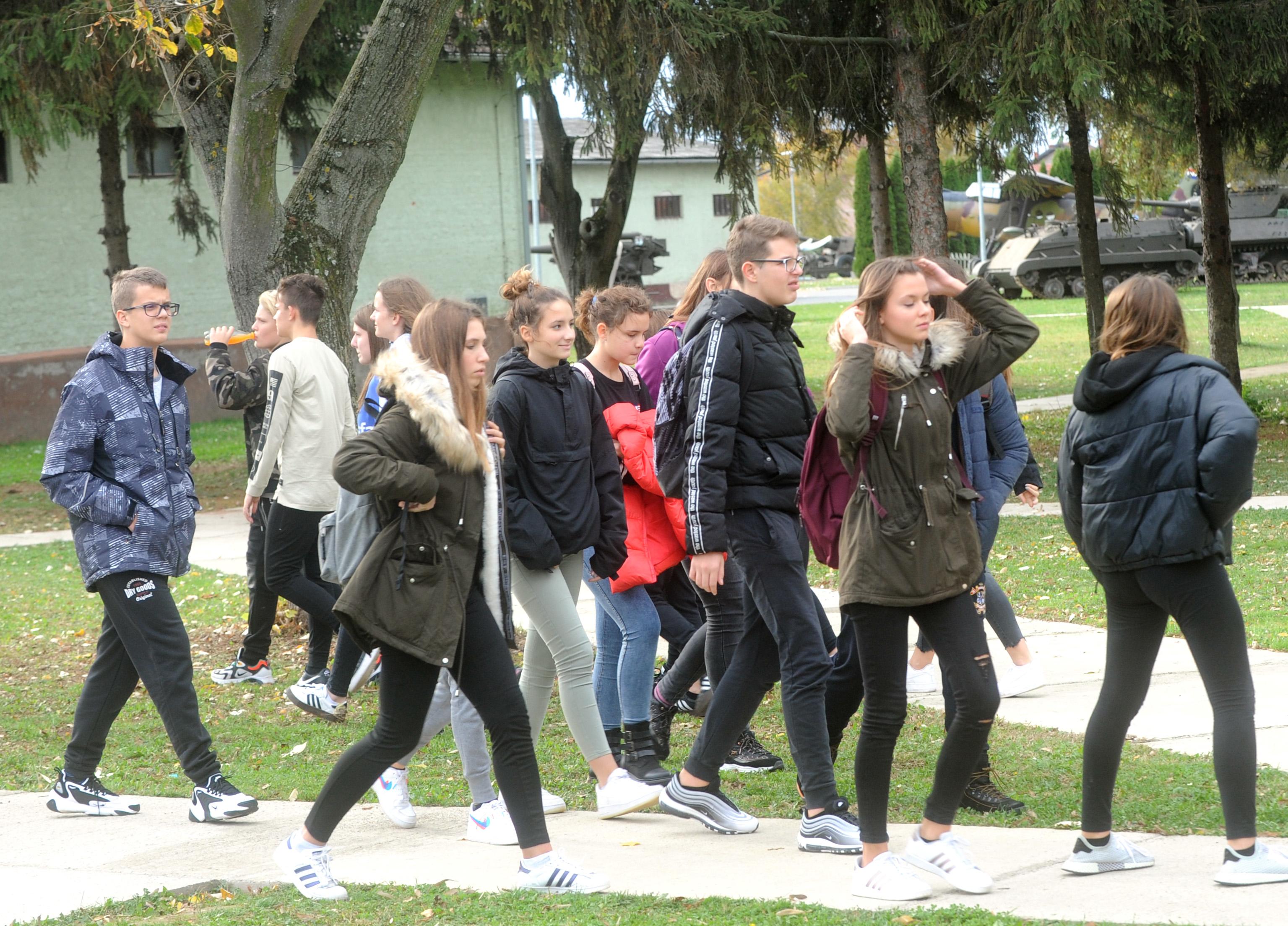 U Vukovaru i učenici OŠ Matulji / Foto: M. GRACIN