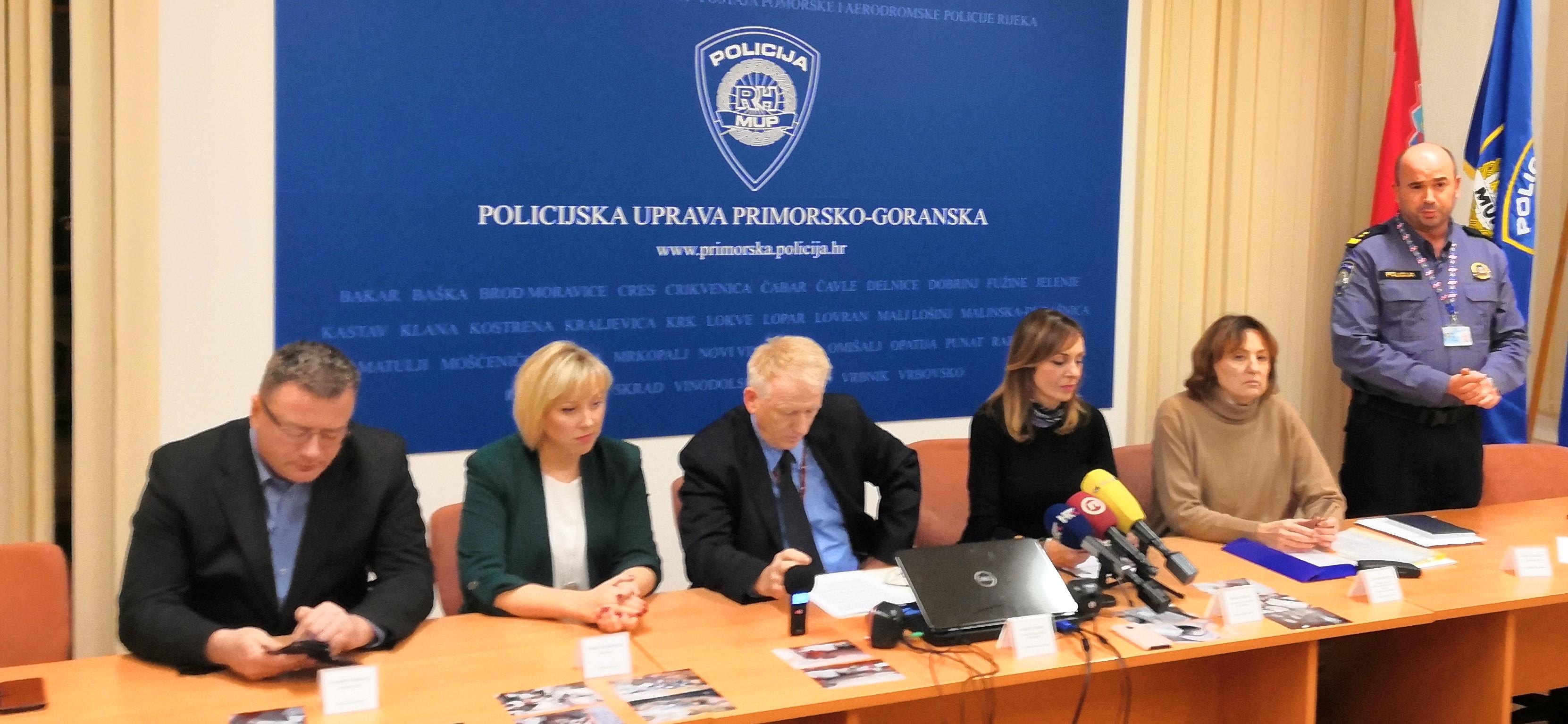 Tiskovna konferencija o slučaju odbacivanja opasnog otpada / Foto MUP