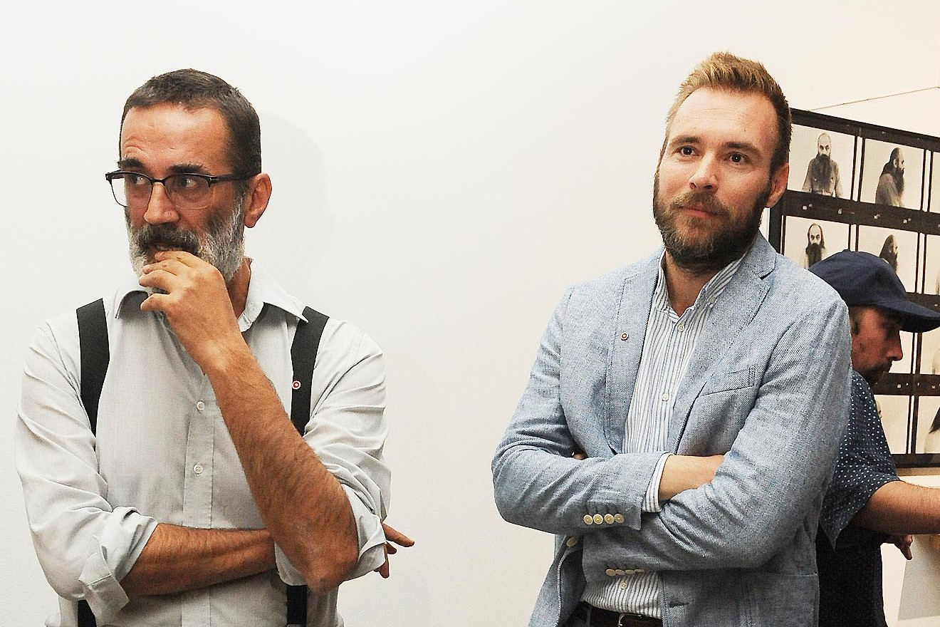 Slaven Tolj i Ivan Šarar / Foto: S. DRECHSLER