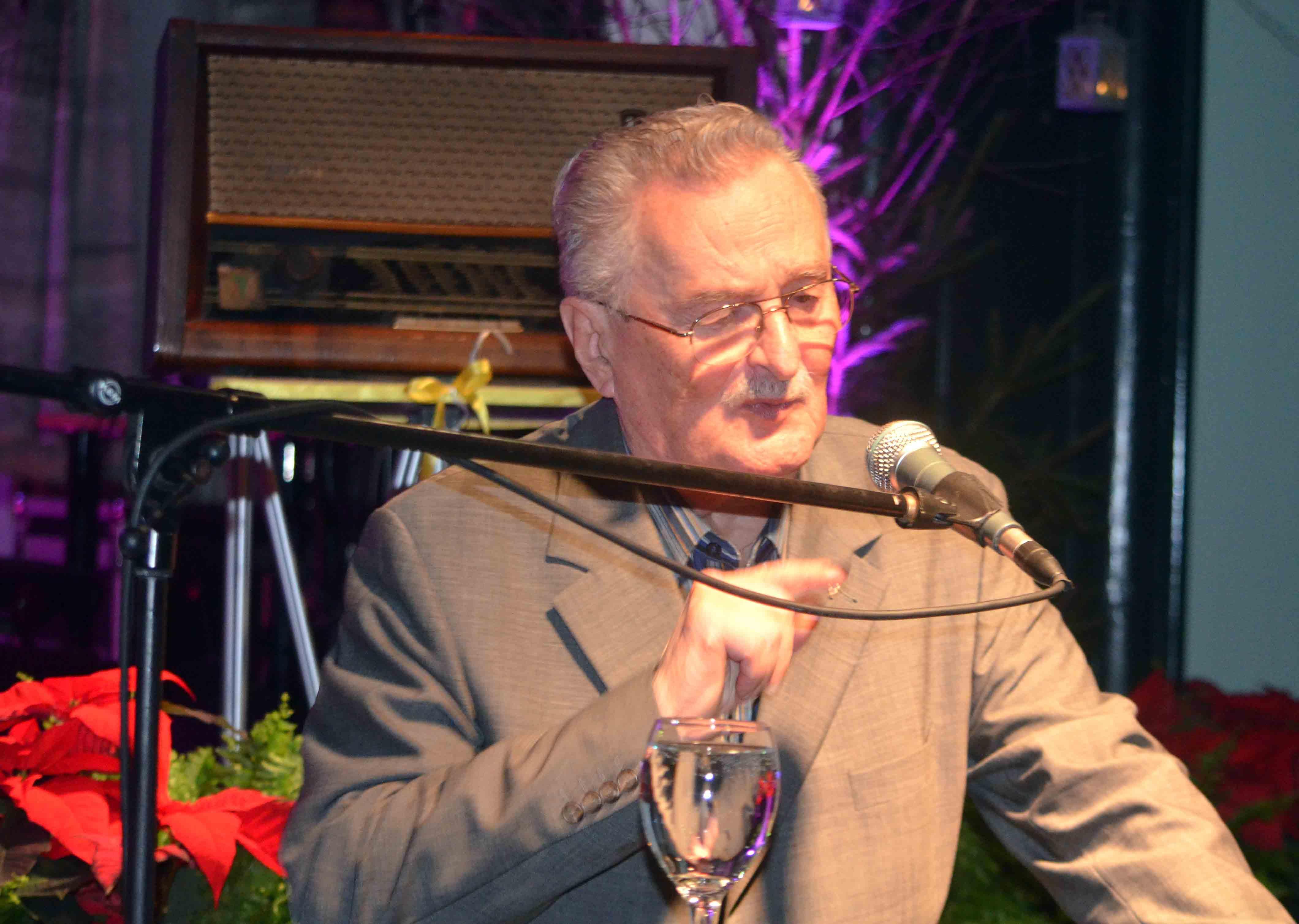 Legenda hrvatskog novinarstva Ivica Kovačević bio je 1969. prvi glavni urednik Radija Delnice, kasnije RGK-a / Snimio Marinko KRMPOTIĆ