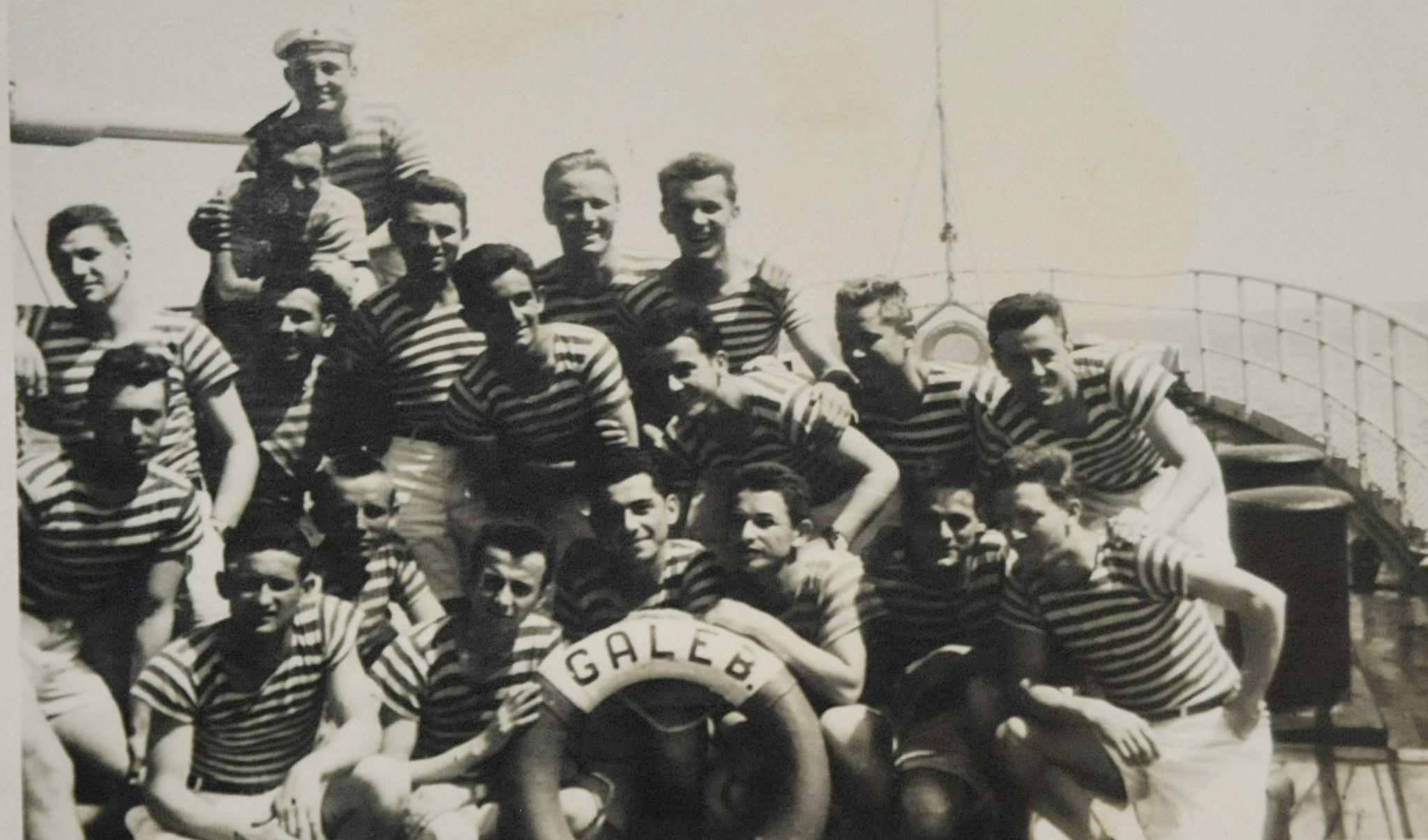 Mladi mornari na odsluženju vojnog roka