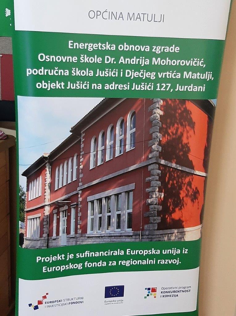 Obnovljena je škola Jušići / Foto Općina Matulji