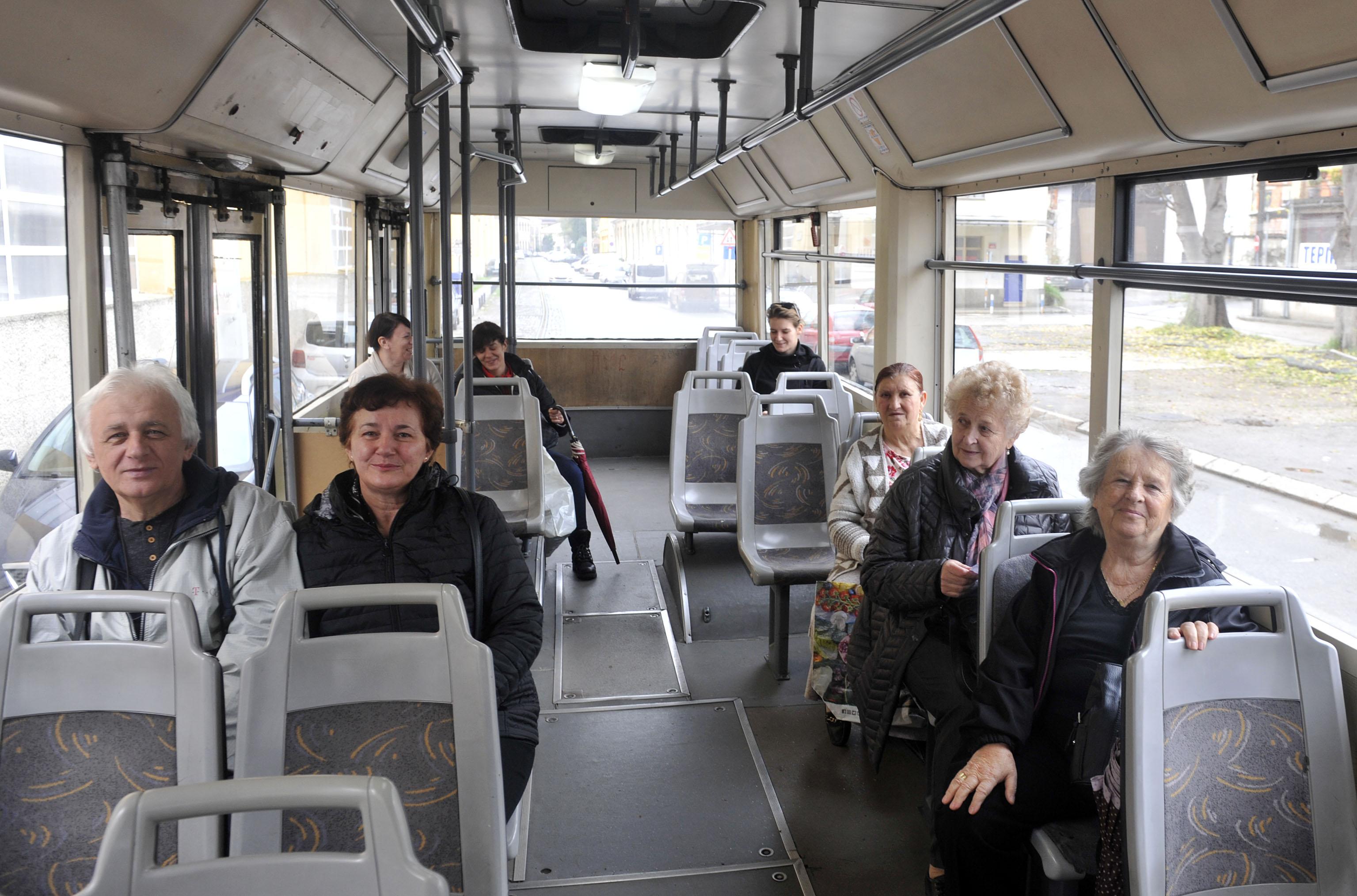 : Putnike ugodno iznenadila mlada vozačica u »osmici« / Foto Vedran KARUZA
