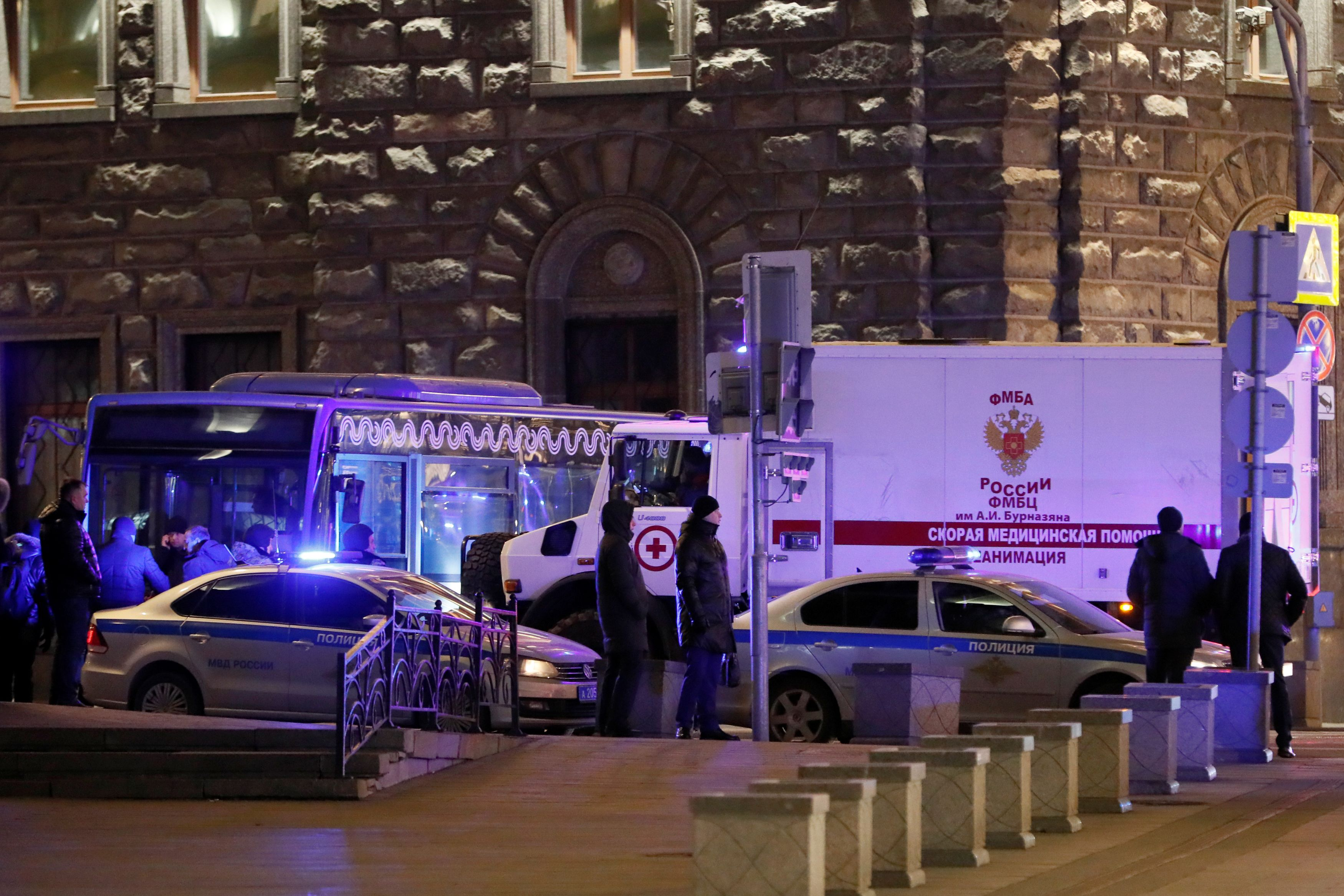 Pucnjava u Moskvi / Reuters