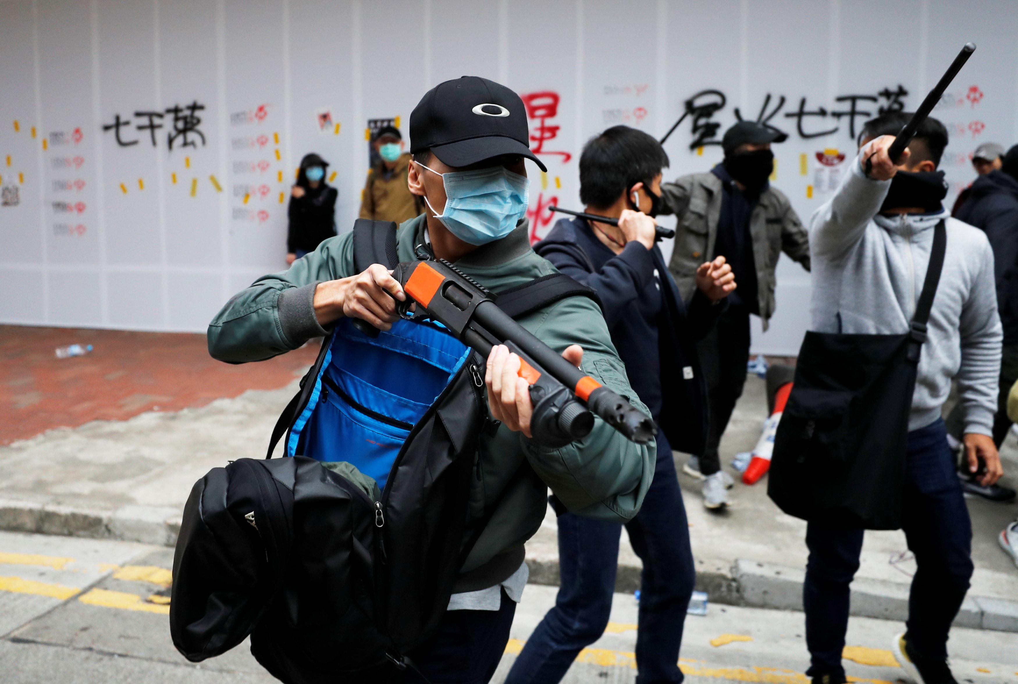 Policija i prosvjedi u Hong Kongu / Reuters