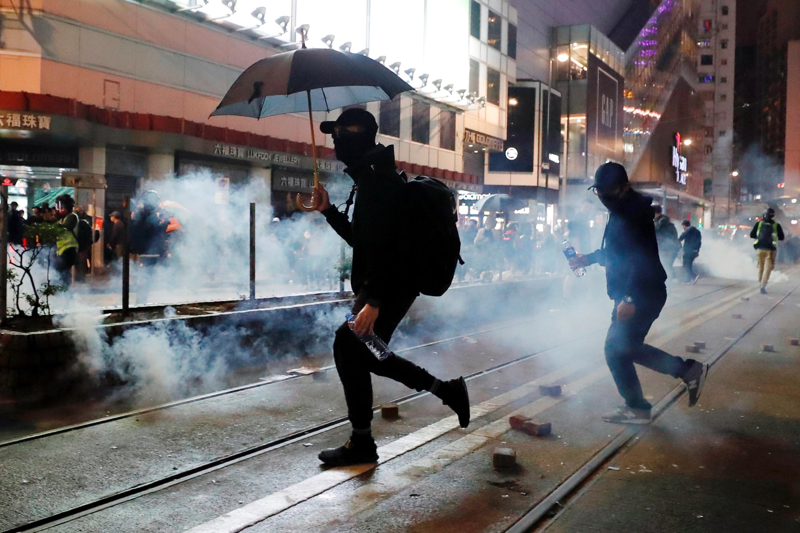 Prosvjedi u Hong Kongu / Reuters