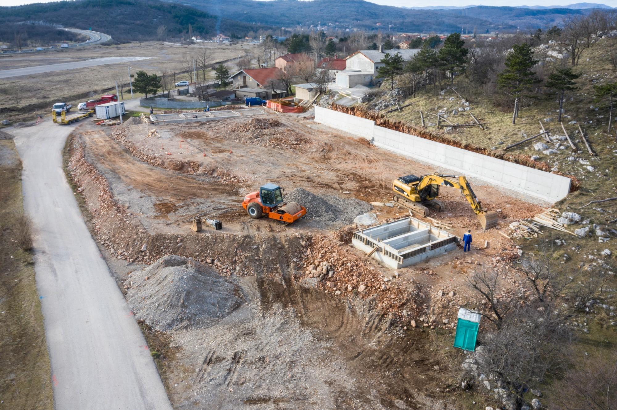 Gradilište reciklažnog dvorišta u Podhumu