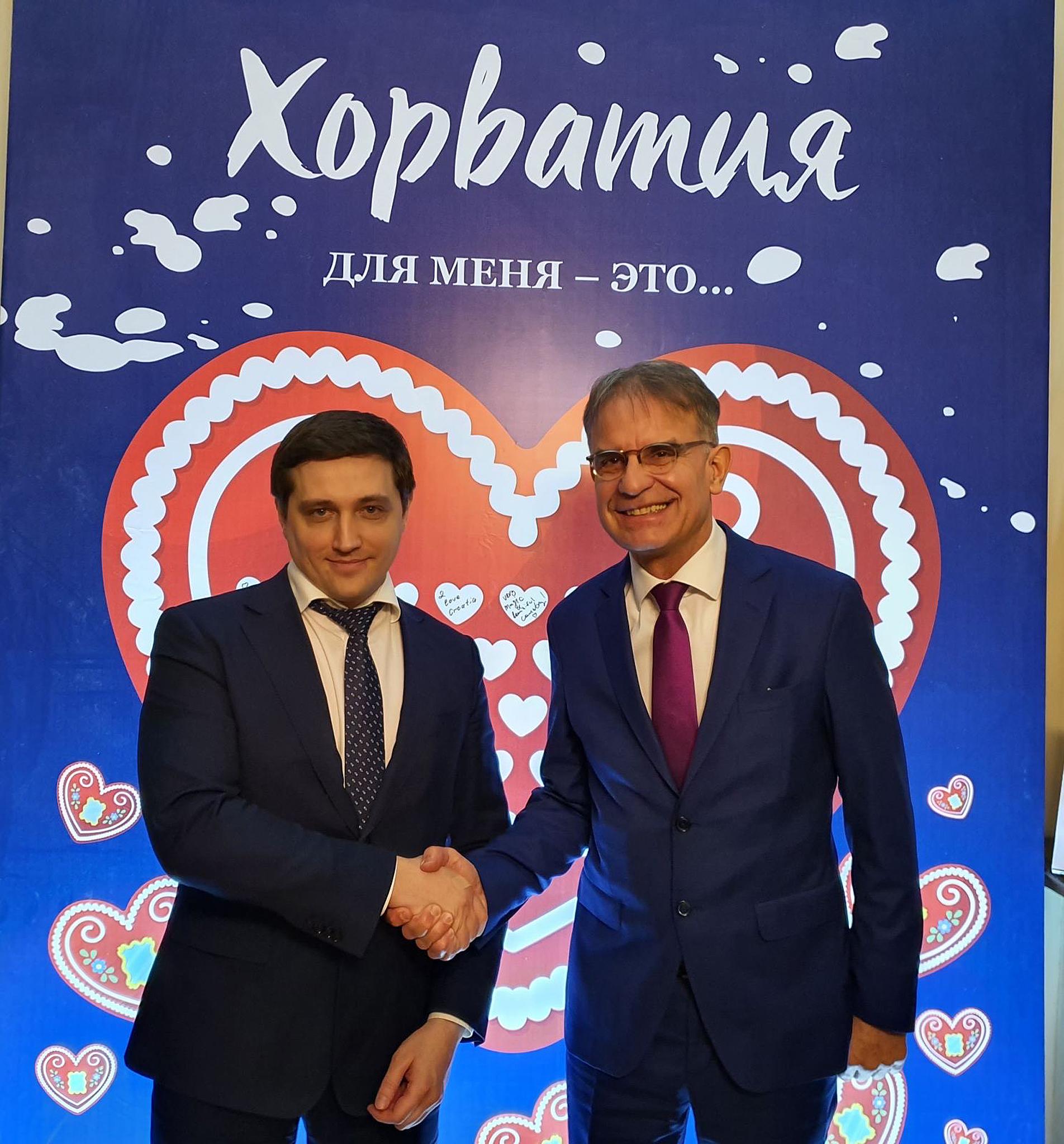 Gari Cappelli i Sergej Sergejevič Galkin / Foto HTZ