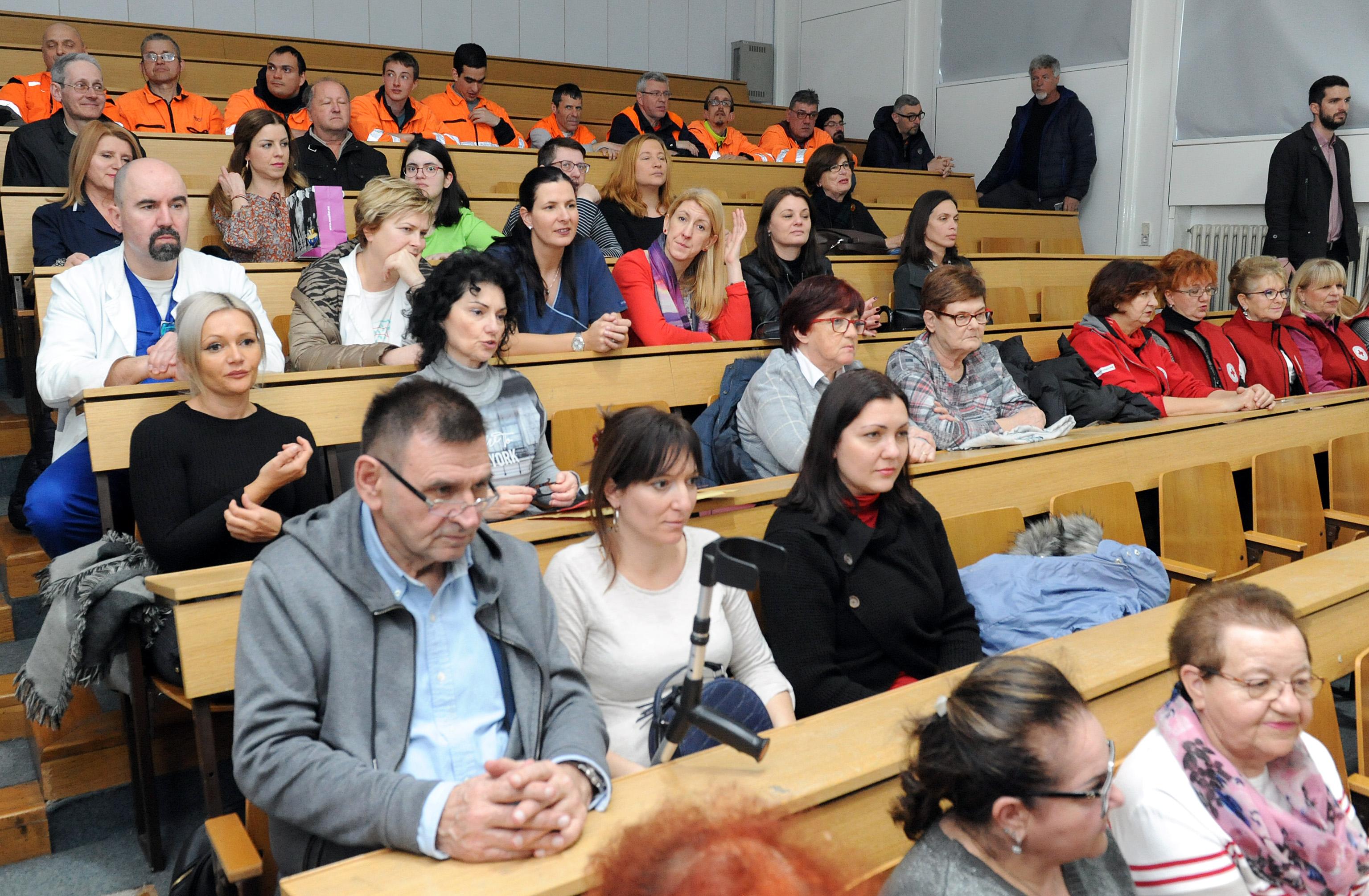 Tradicionalni godišnji susret županijskih udruga i Uprave KBC-a  / Foto M. GRACIN