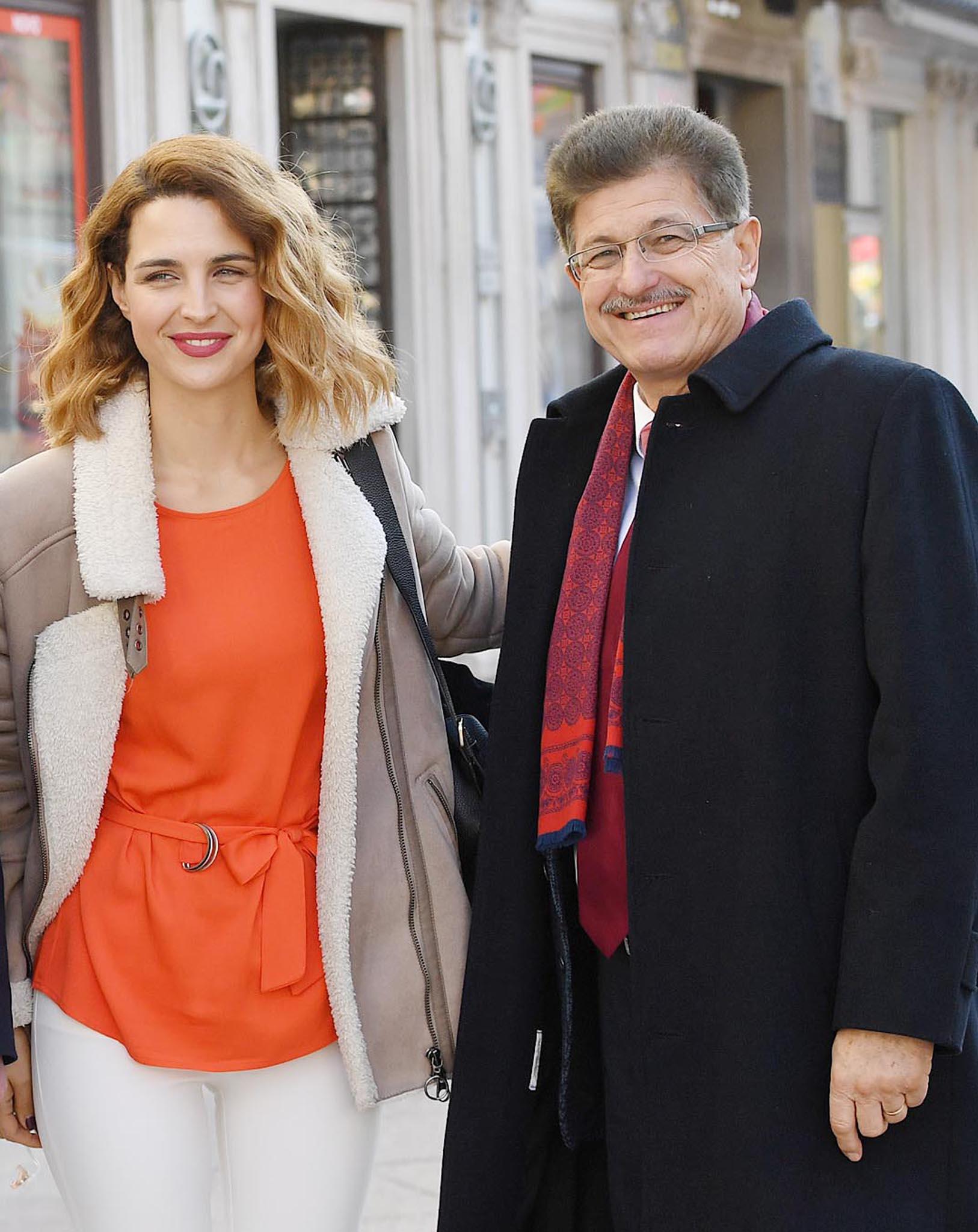 Doris Pinčić Rogoznica i Ivo Dujmić / Foto IVICA TOMIĆ