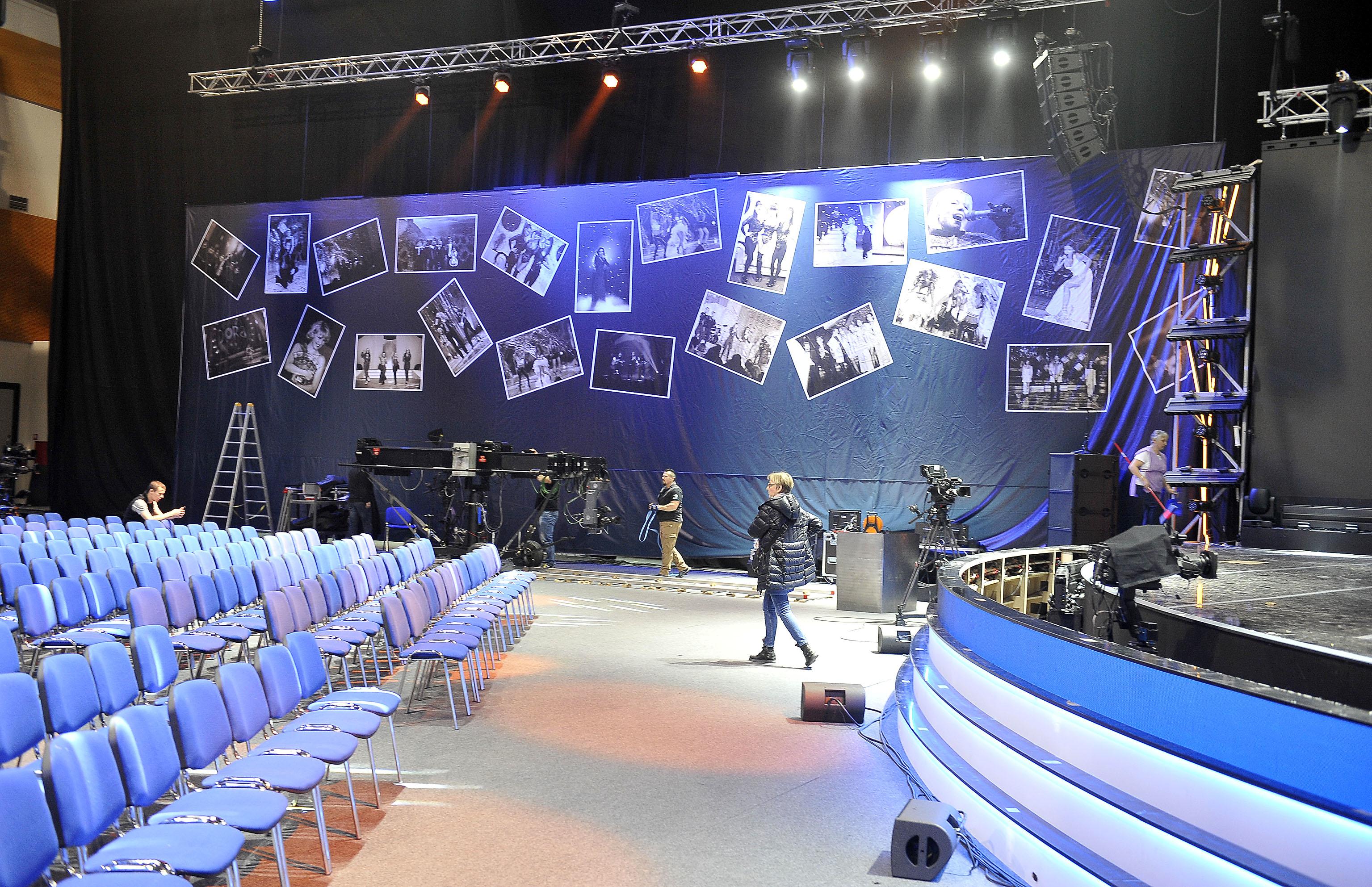 Pripreme u Sportskoj dvorani Marino Cvetković u punom su jeku / Foto RONI BRMALJ
