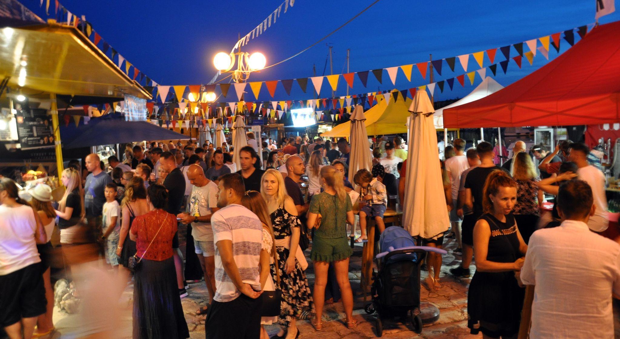 """""""Krk Music Fest"""" će i ove godine, osim bogatog glazbenog programa, donijeti i raznovrsnu ponudu ulične hrane / Foto TZG Krka"""
