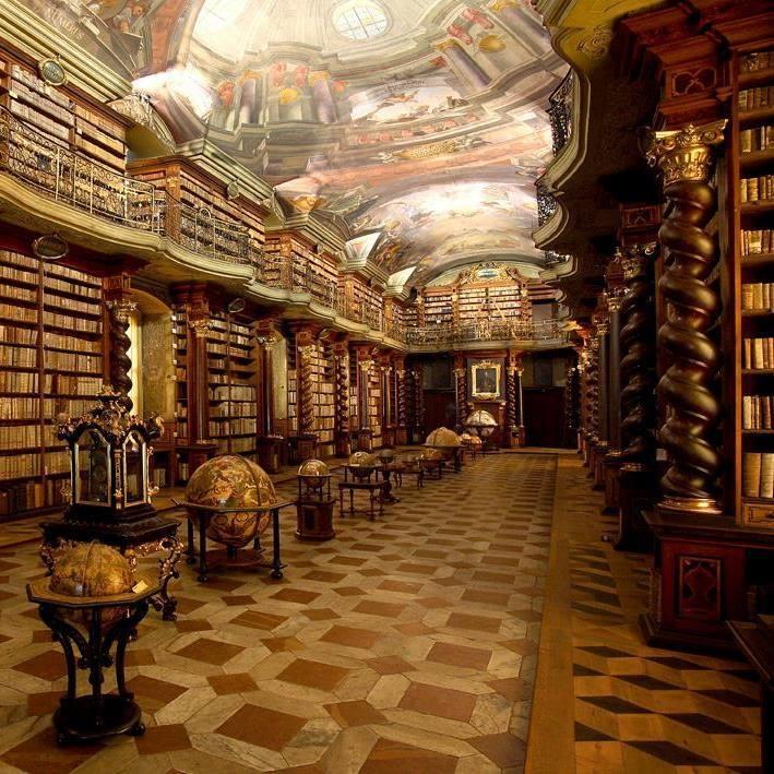 Biblioteka Klementinum u Pragu / Facebook