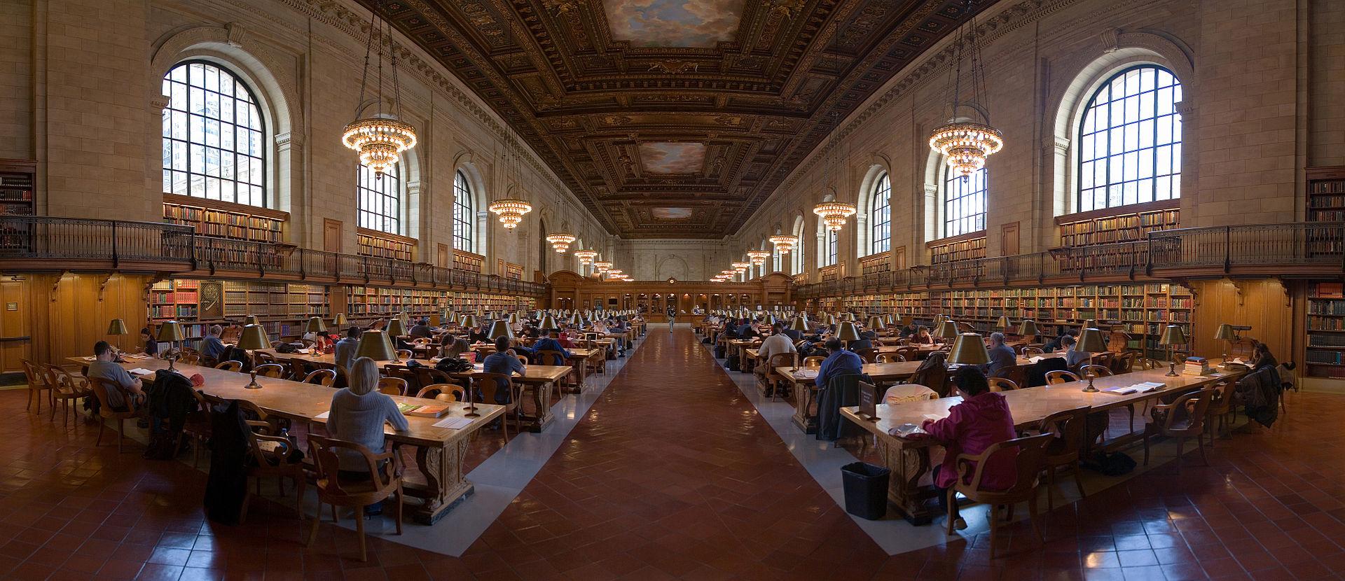 New York Public Library - prizor iz vremena prije korone