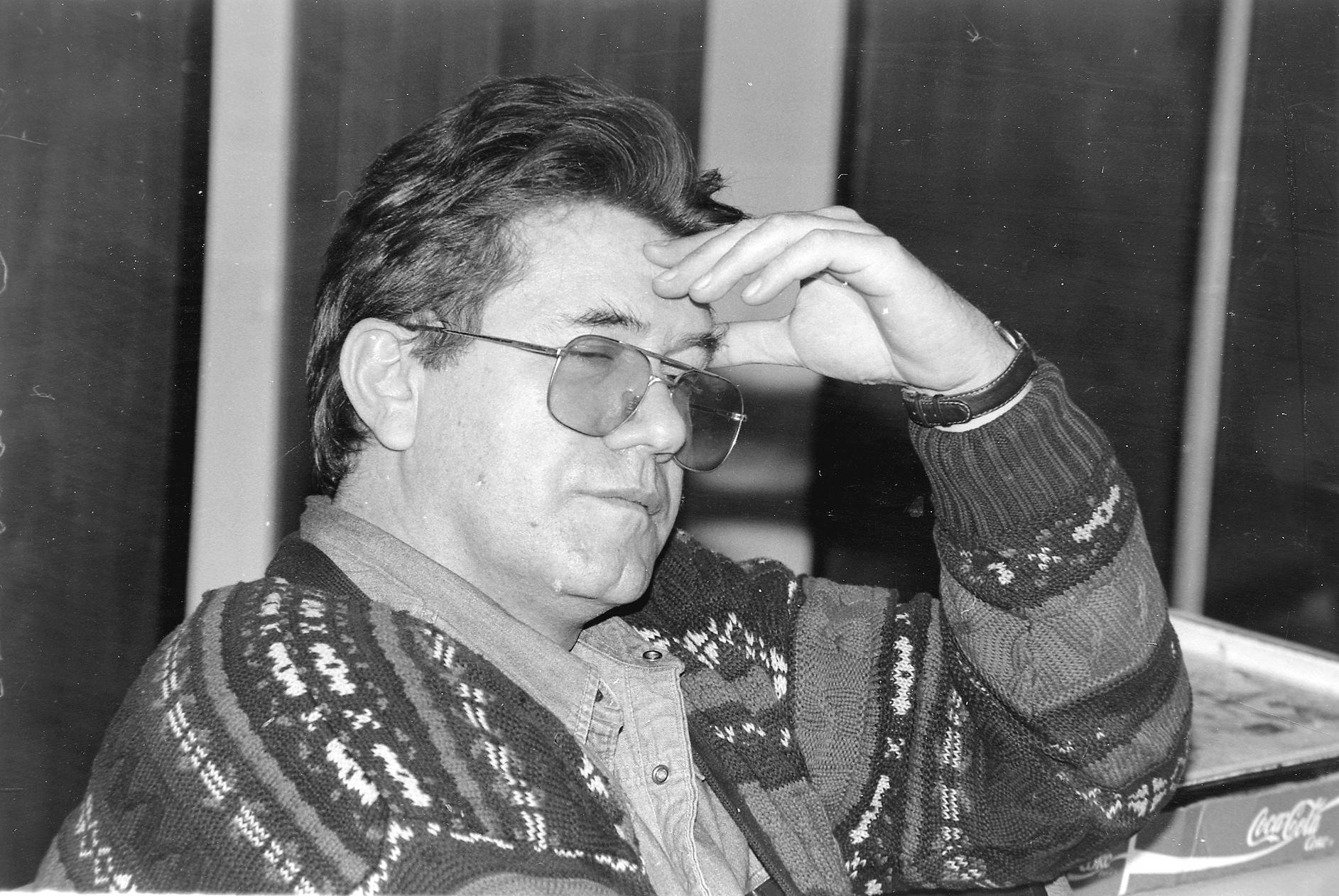 Novolistovski legendarni urednik Veljko Vičević danas bi imao 64 godine / NL Arhiva