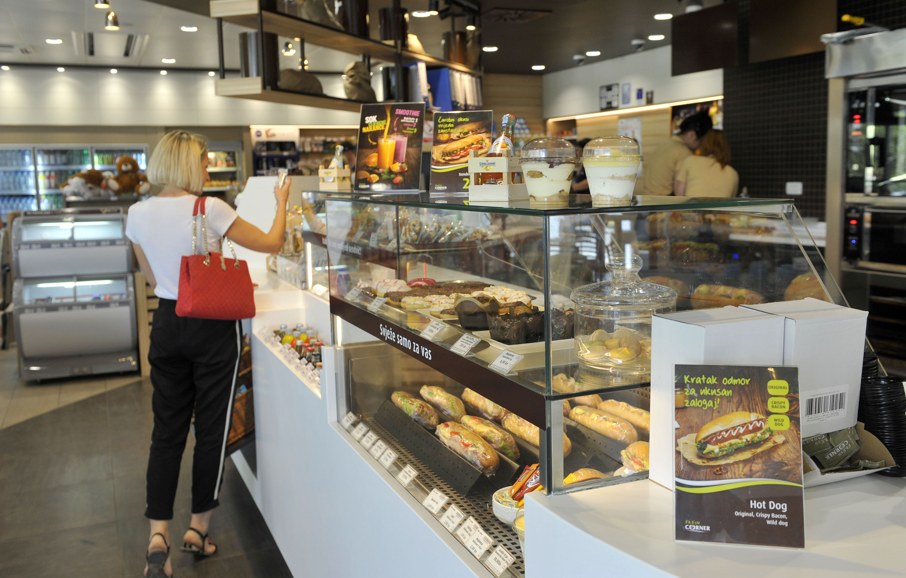 Fresh Corner na Ininom maloprodajnom mjestu