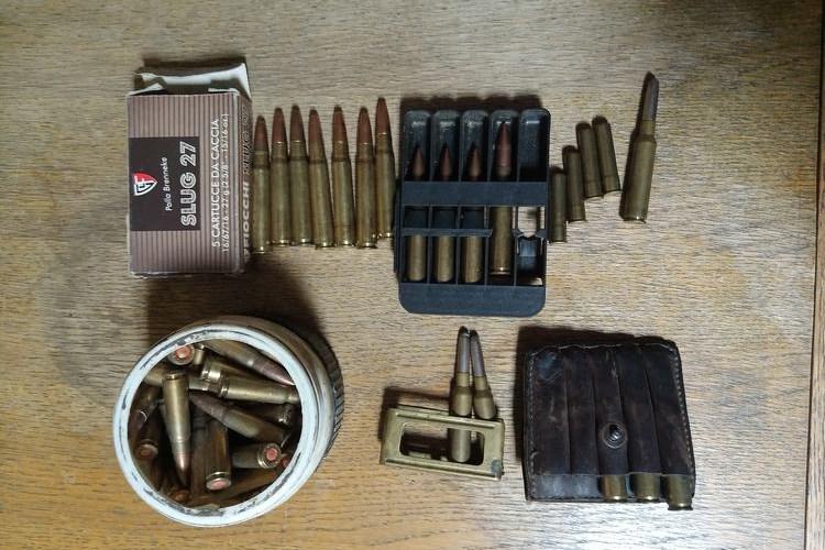 Streljivo pronađeno u kući 67-godišnjaka / Foto MUP