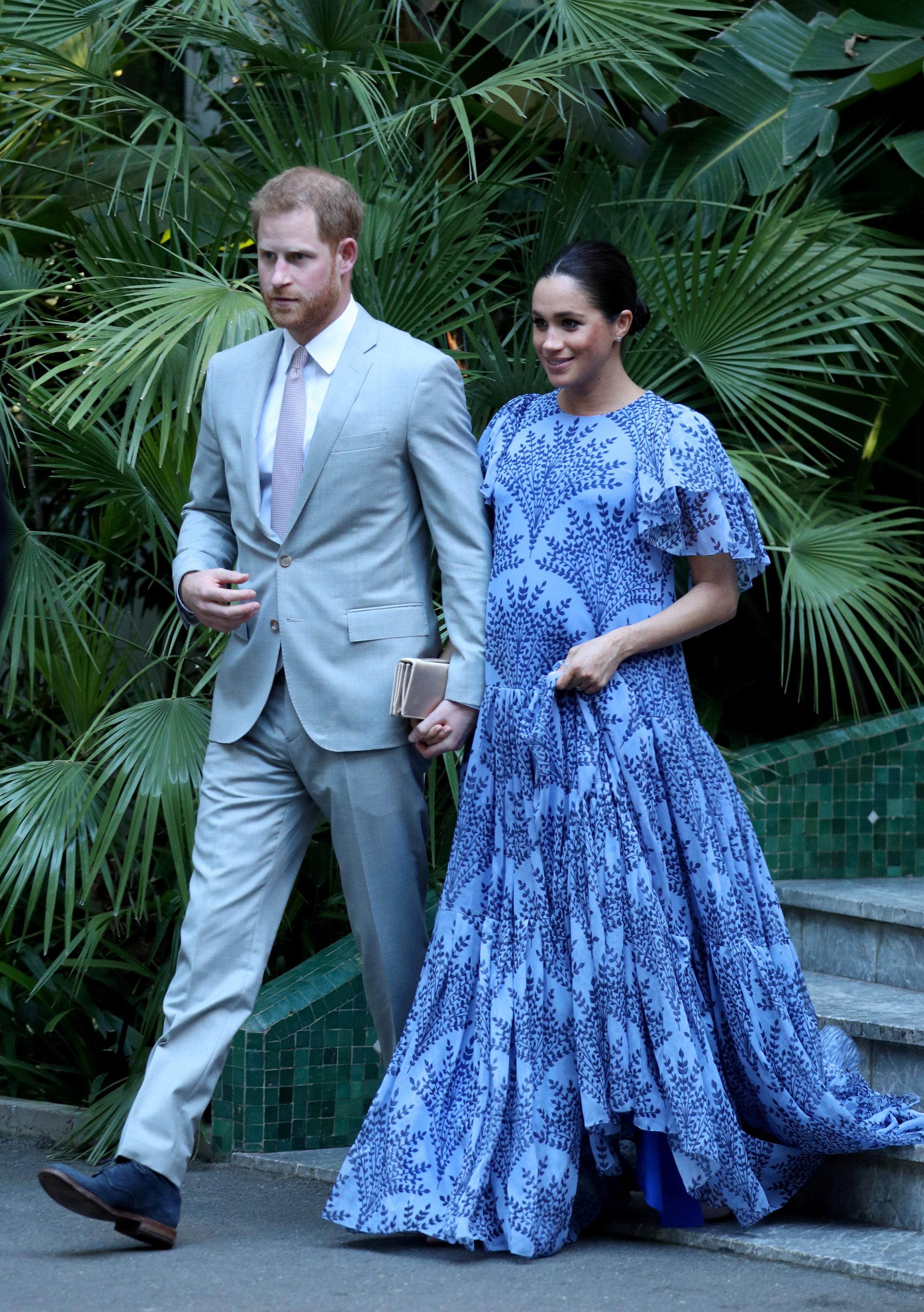 Meghan Markle - Carolina Herrera za posjet kralju Maroka / Foto Reuters