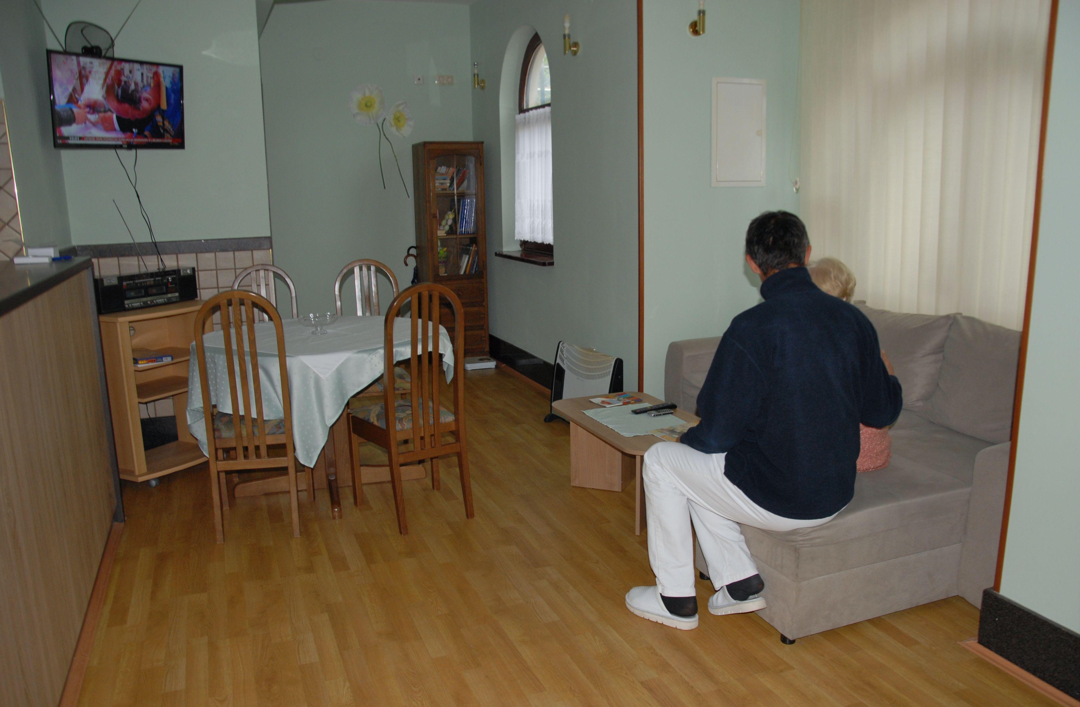 Dnevni boravak jedan je od zajedničkih prostora u Domu / Snimila Nataša CAR
