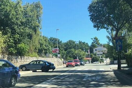 Prometna nesreća na Kantridi / Foto Facebook