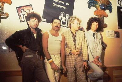 FOTO/Queen, Sanremo 1984./Wikipedia
