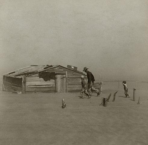 FOTO/Zdjela prašine, Oklahoma 1936., Wikipedia -  Arthur Rothstein